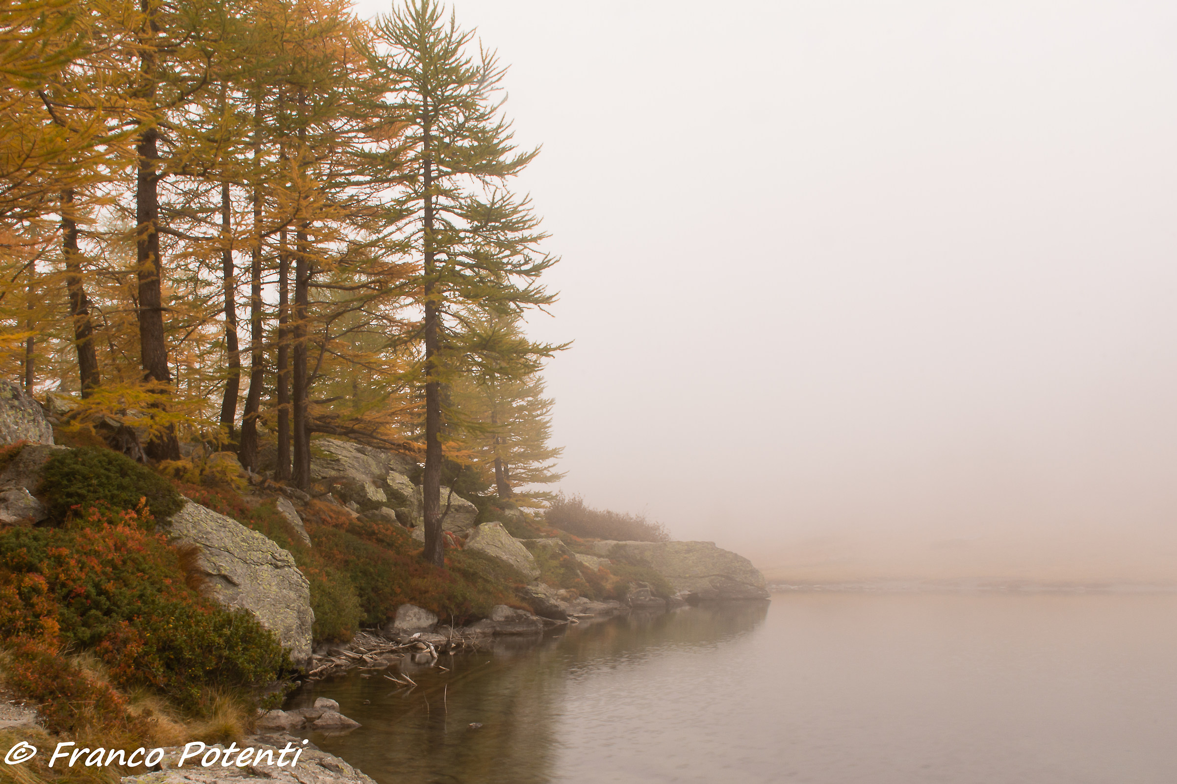 Autumn at Arpy Lake...