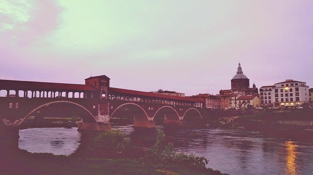 Pavia, Ponte Coperto...