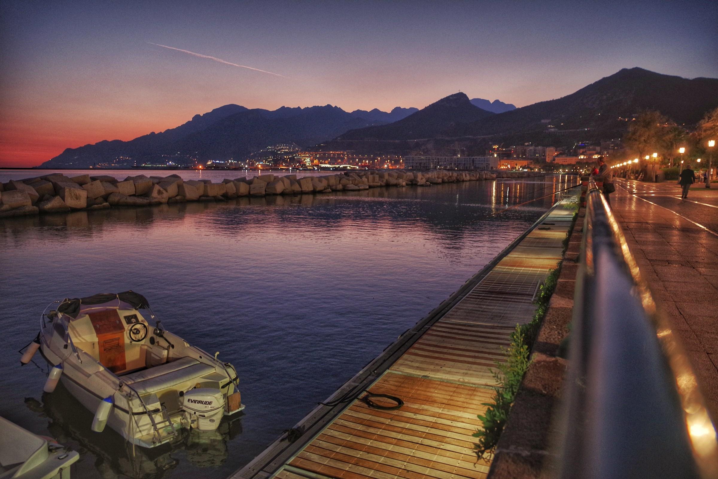 Salerno by night...