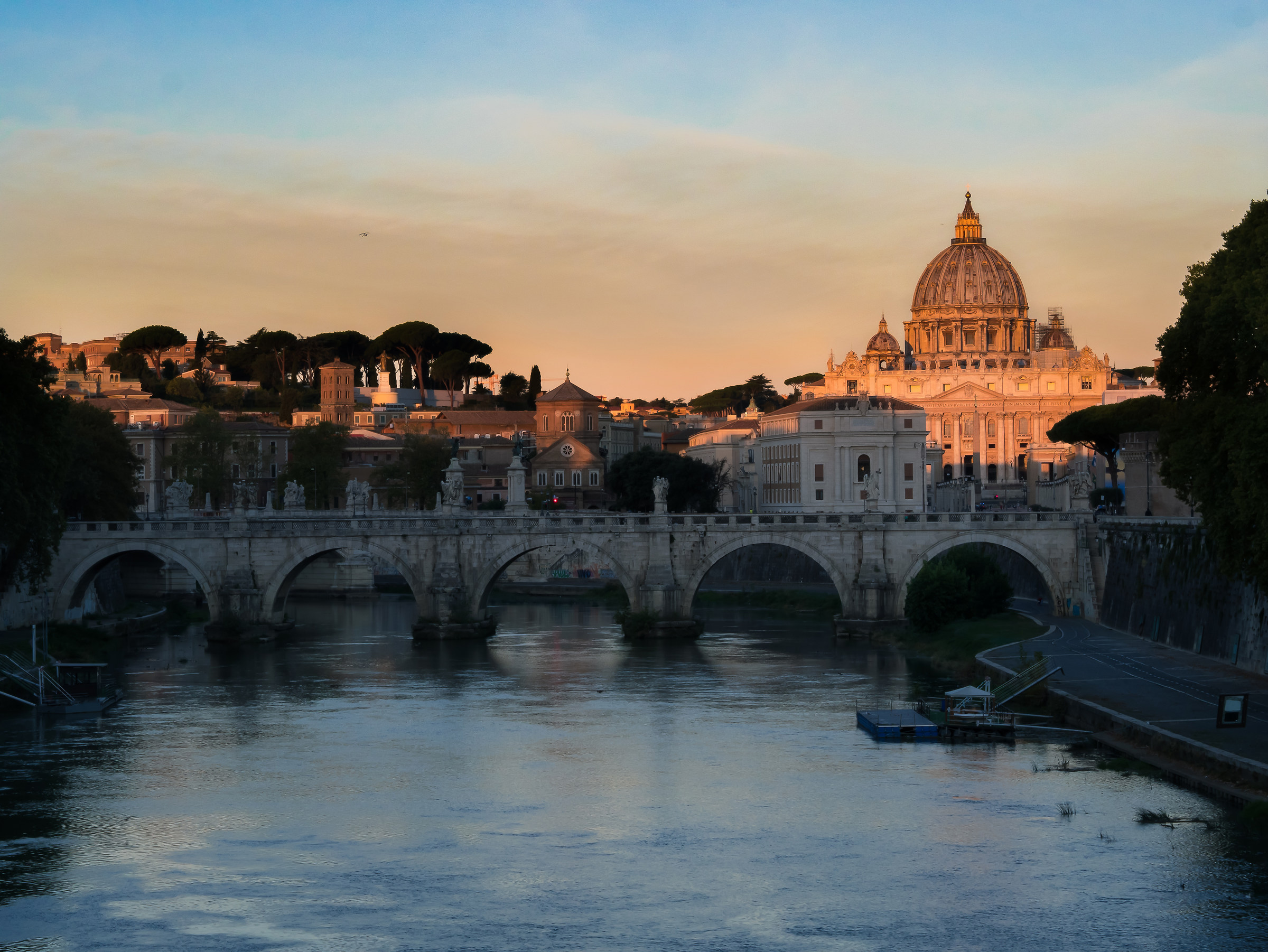 Good morning in Rome!...