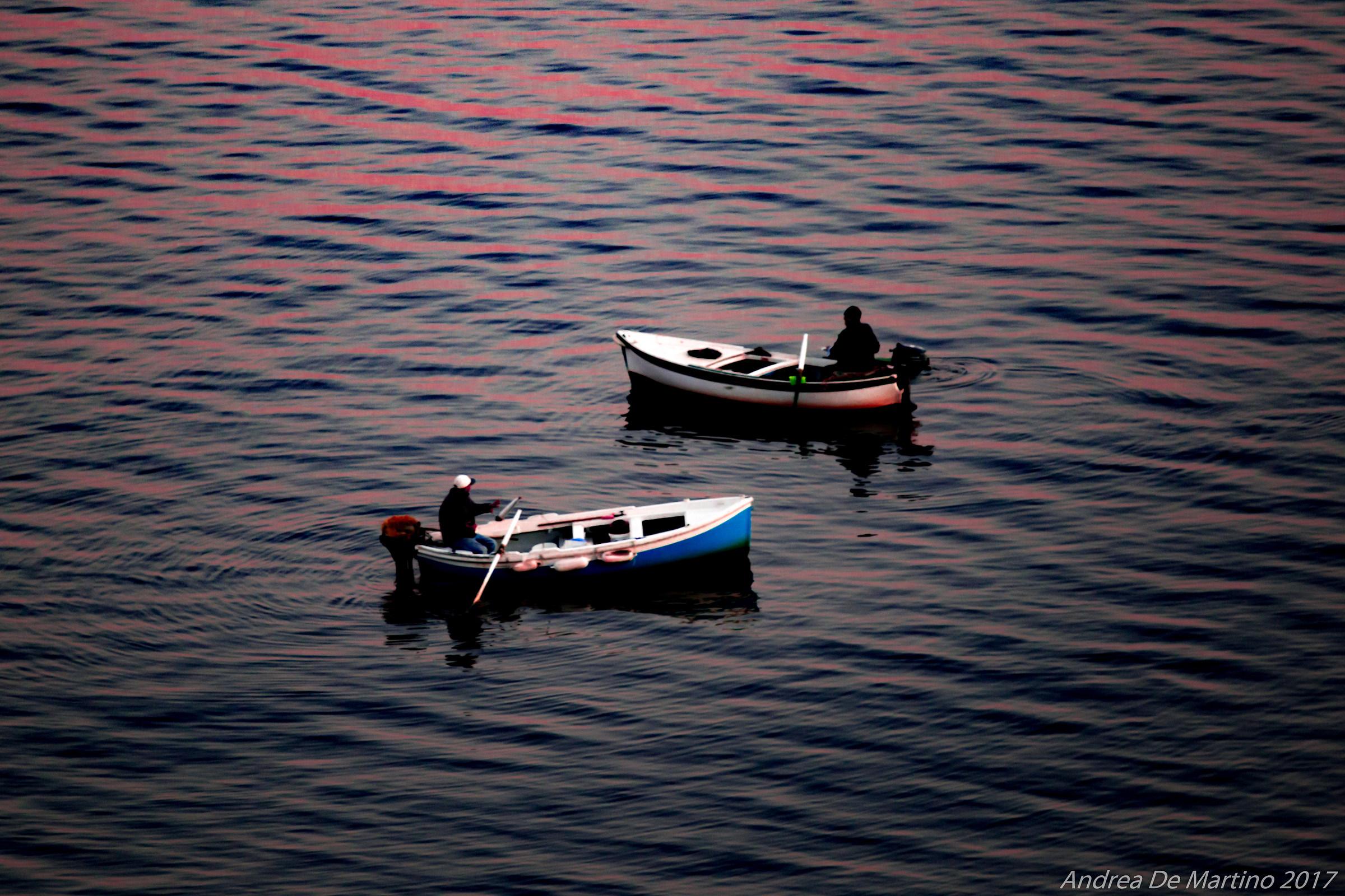 Fishermen...