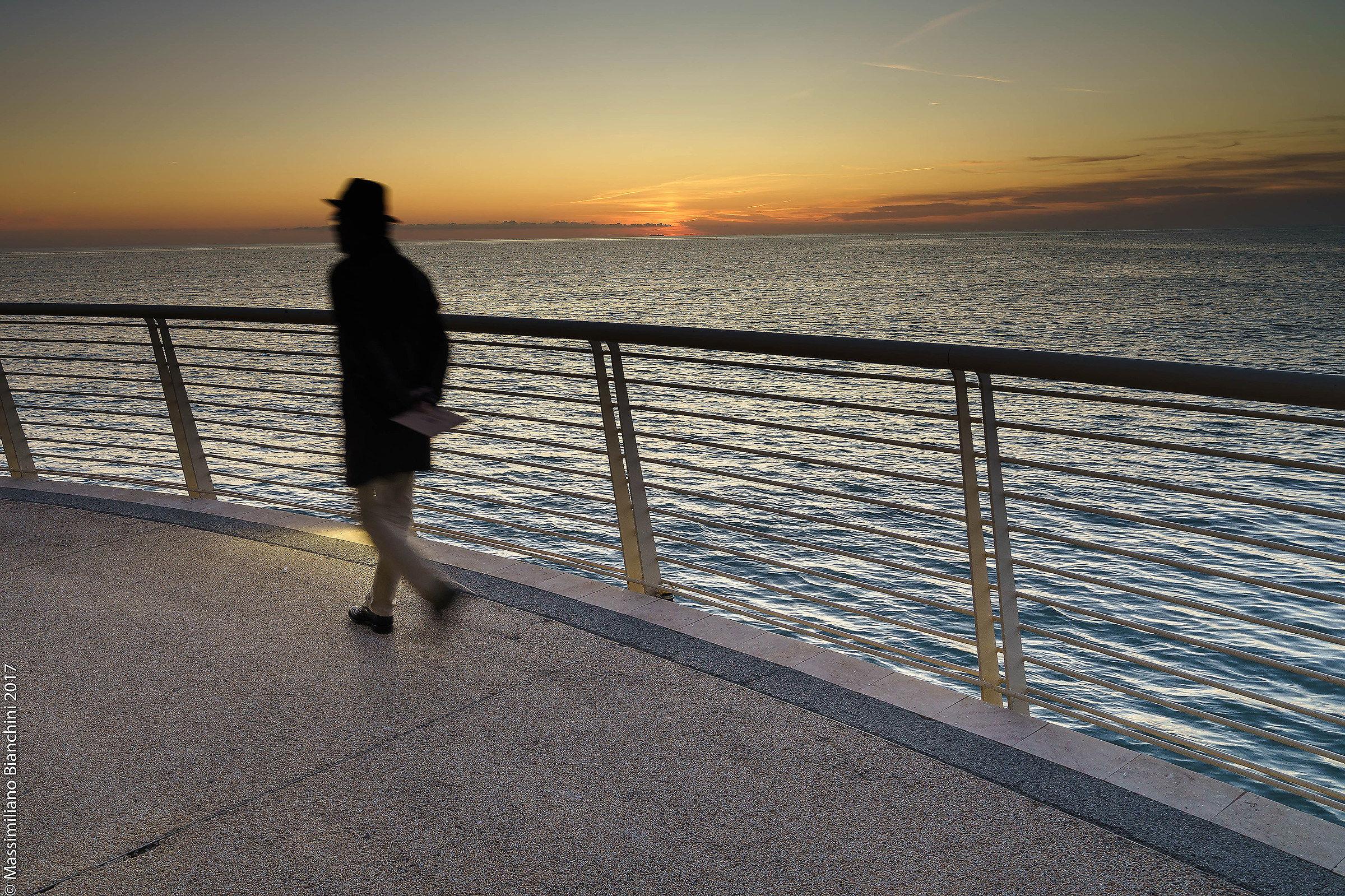 Walking in Sunset...
