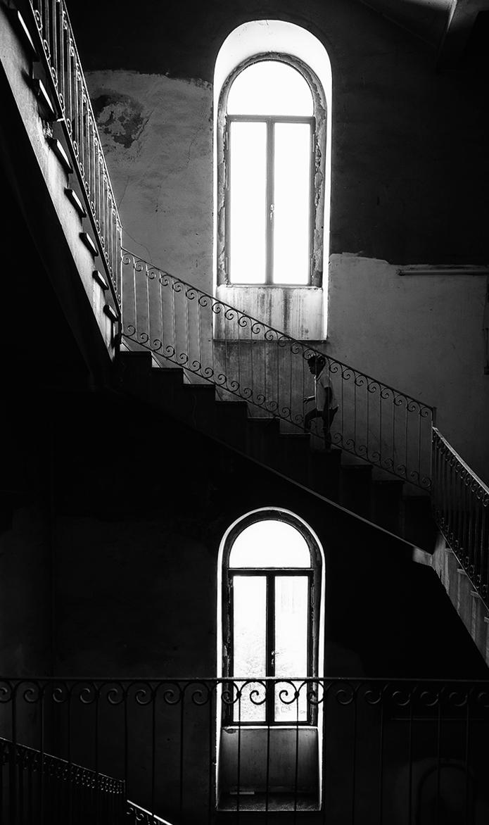 Il folletto delle scale...