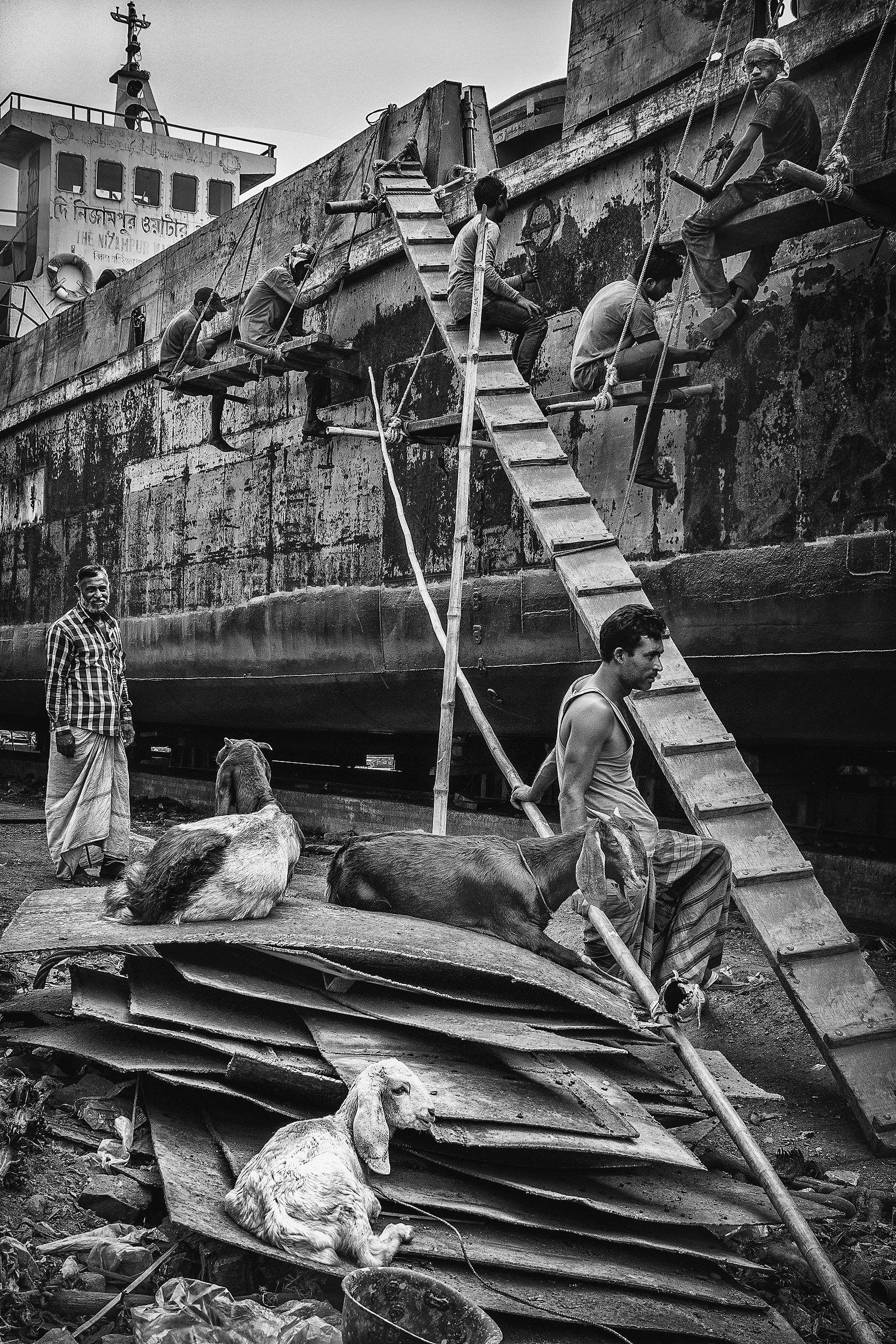 Dhaka Shipyards...