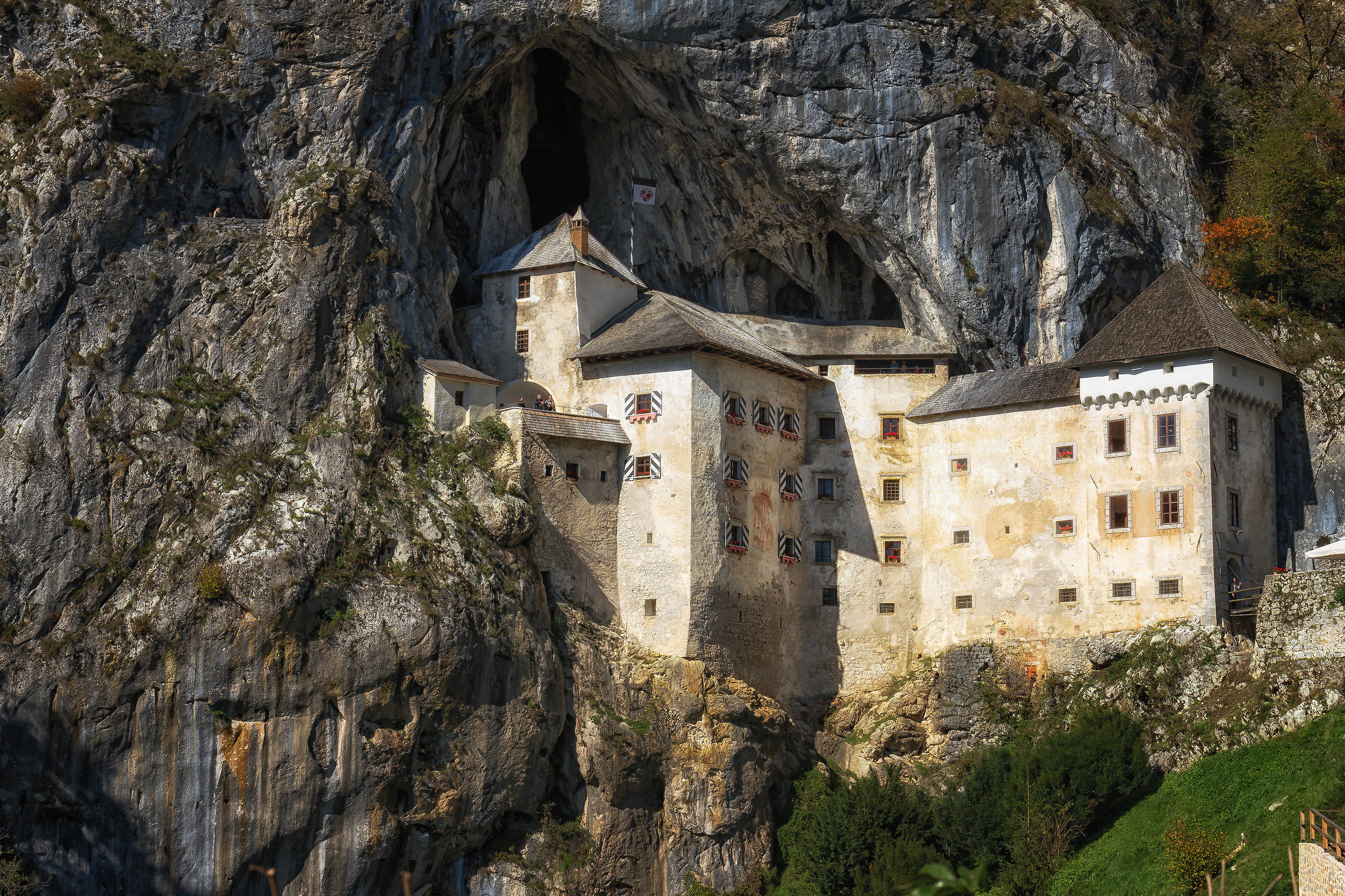 The castle of Erasmus...