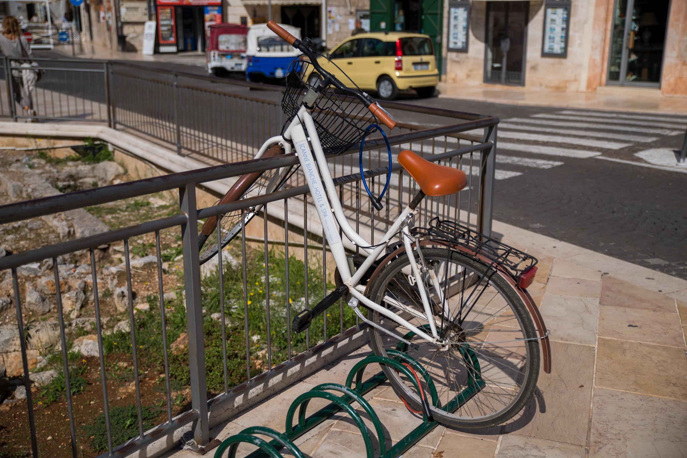 Bike with Wild Parking...