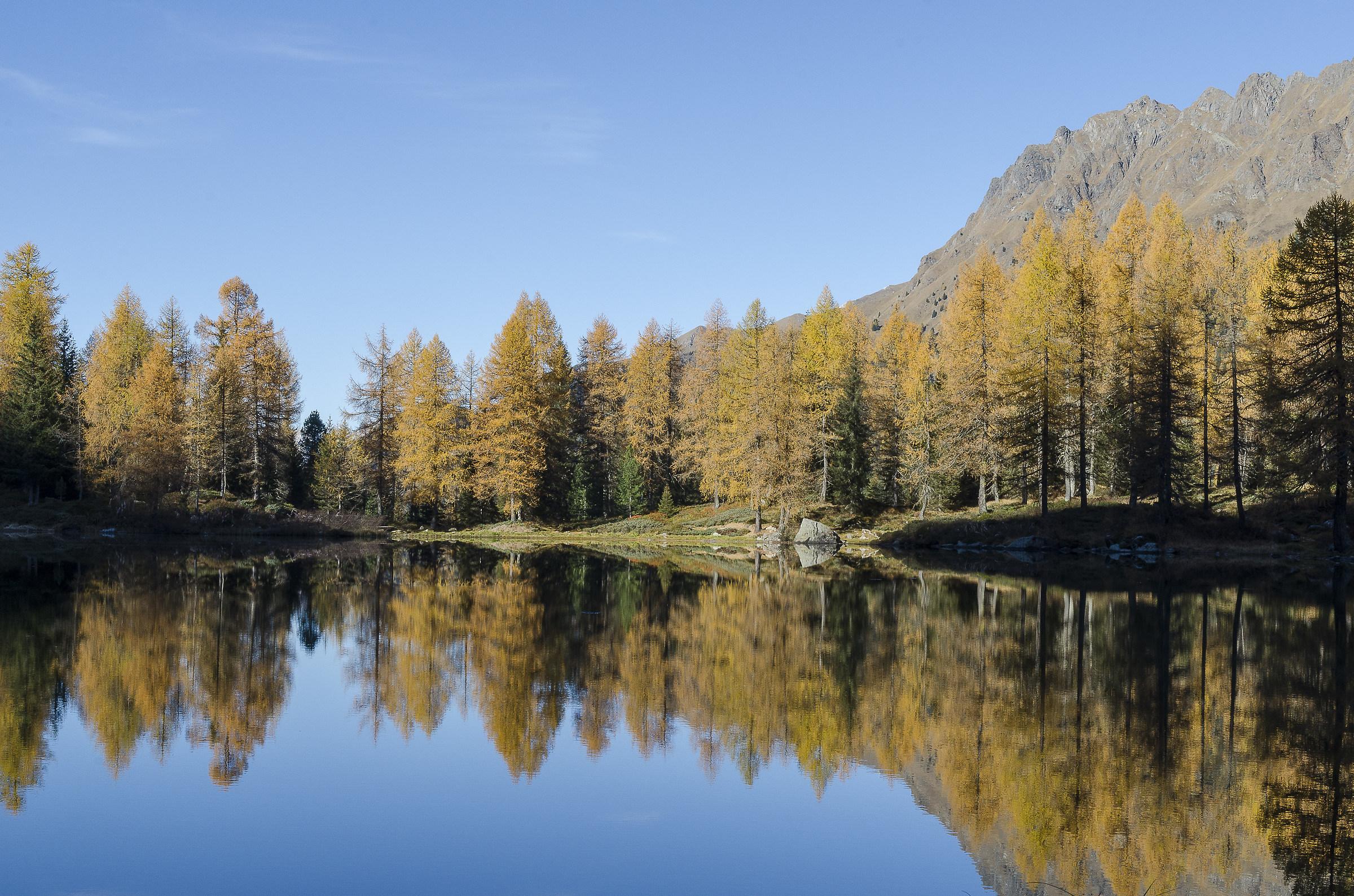 holy pilgrim lake...