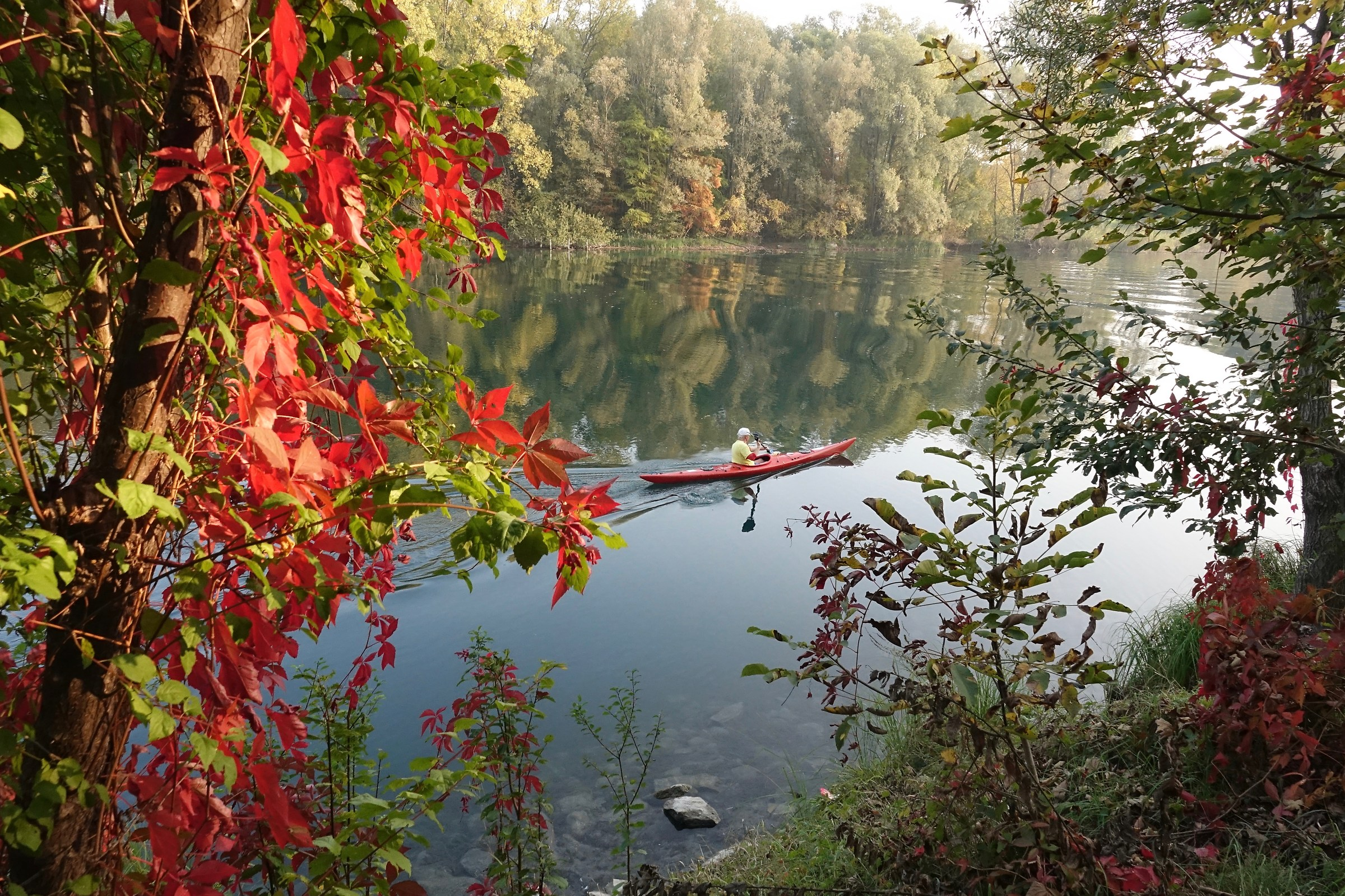 autumn canoes...