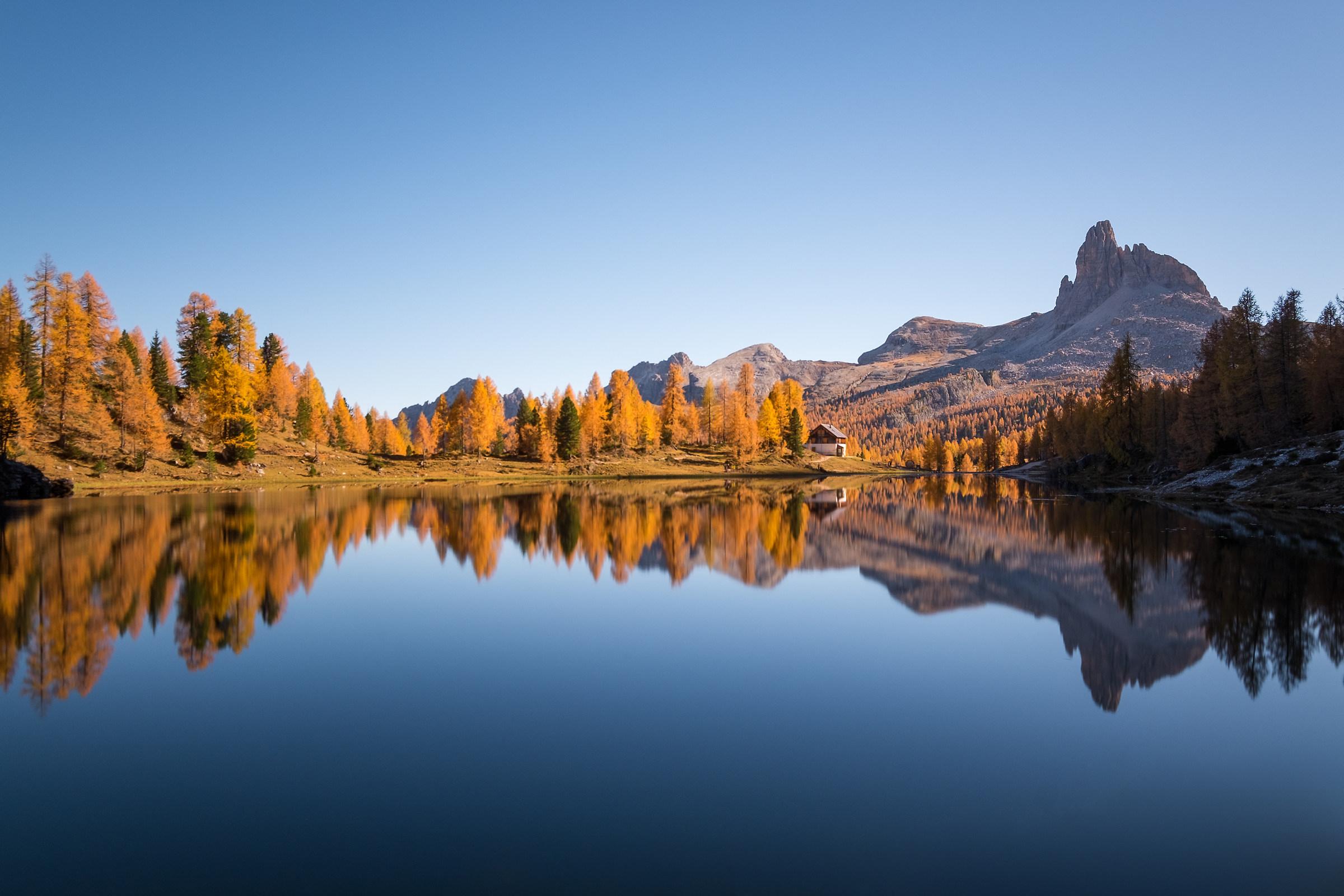 Autumn Dolomites Reflections...