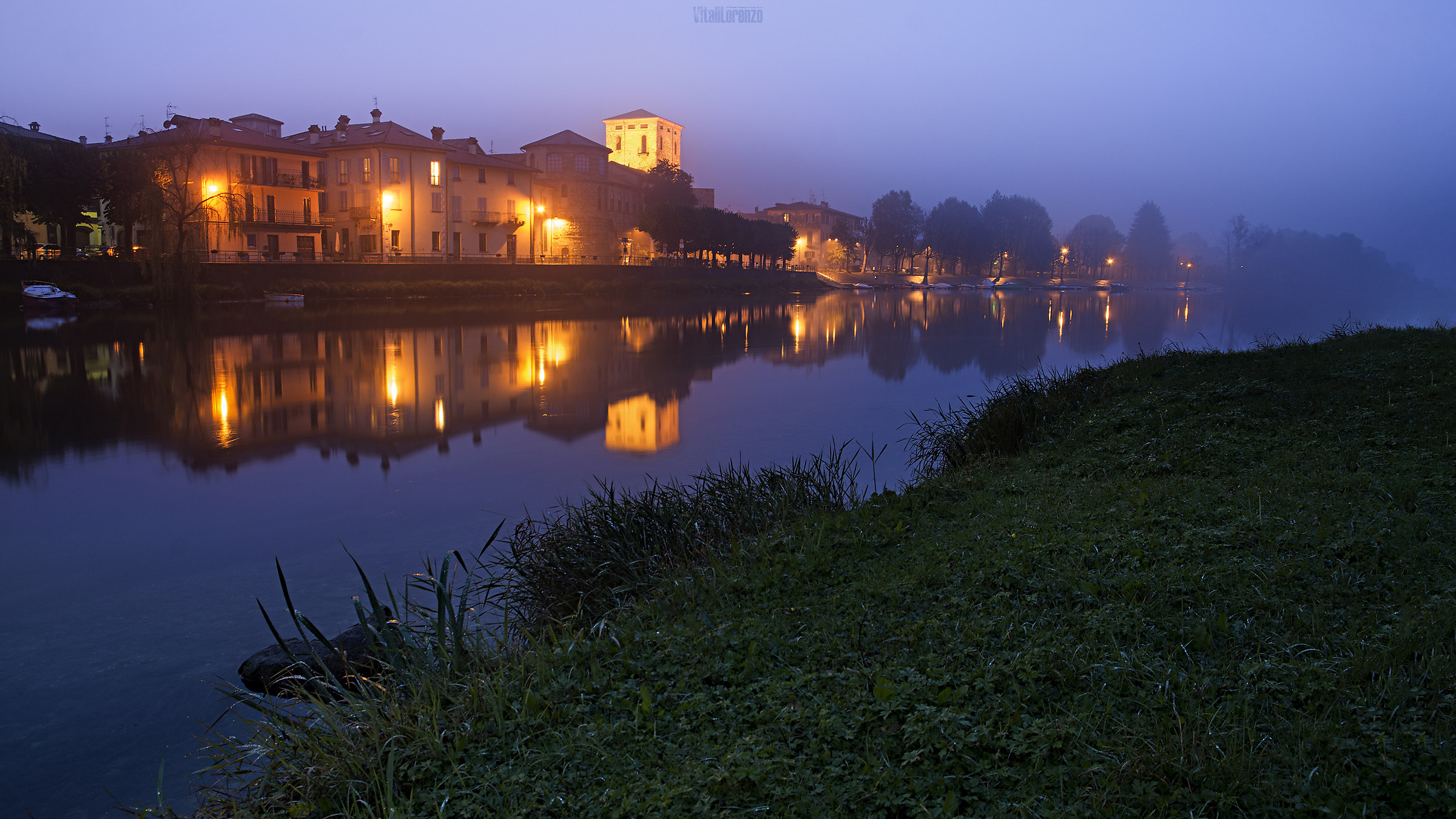 Morning mists...