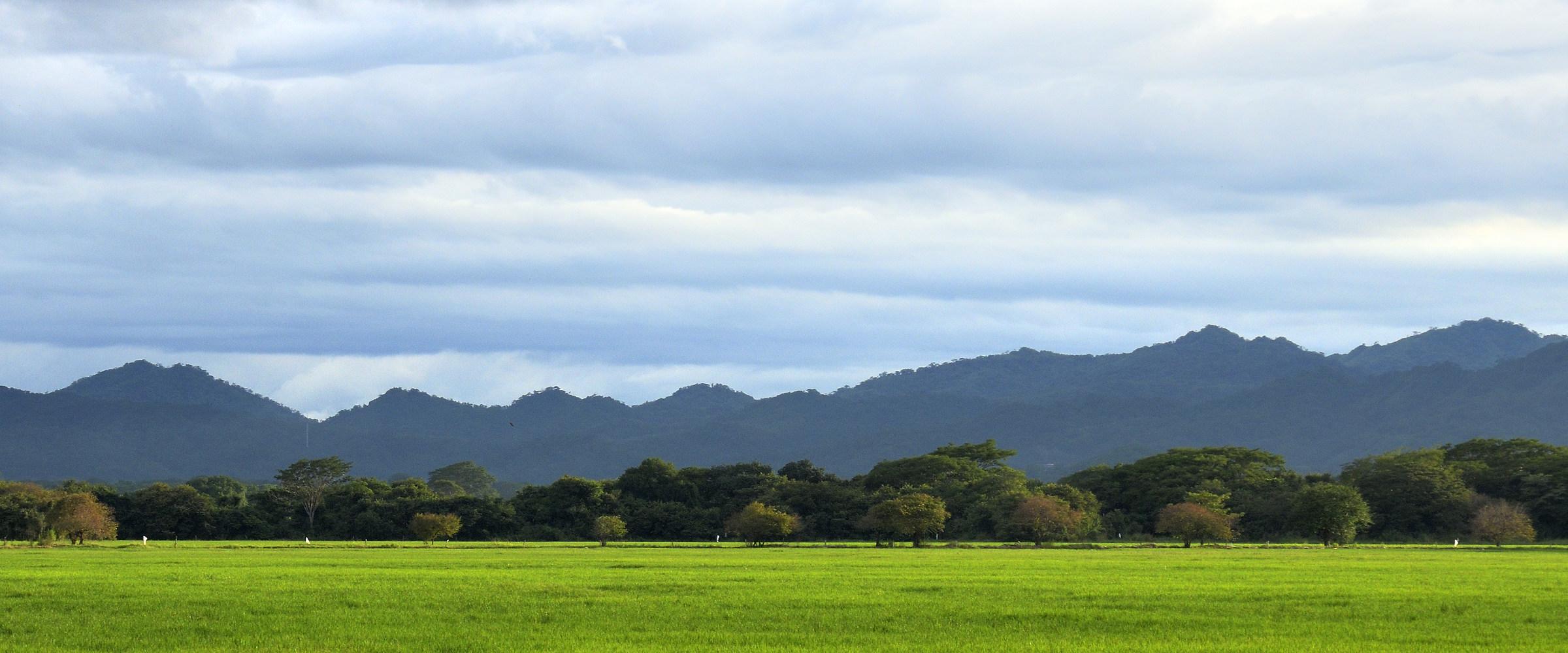 Countryside landscape...