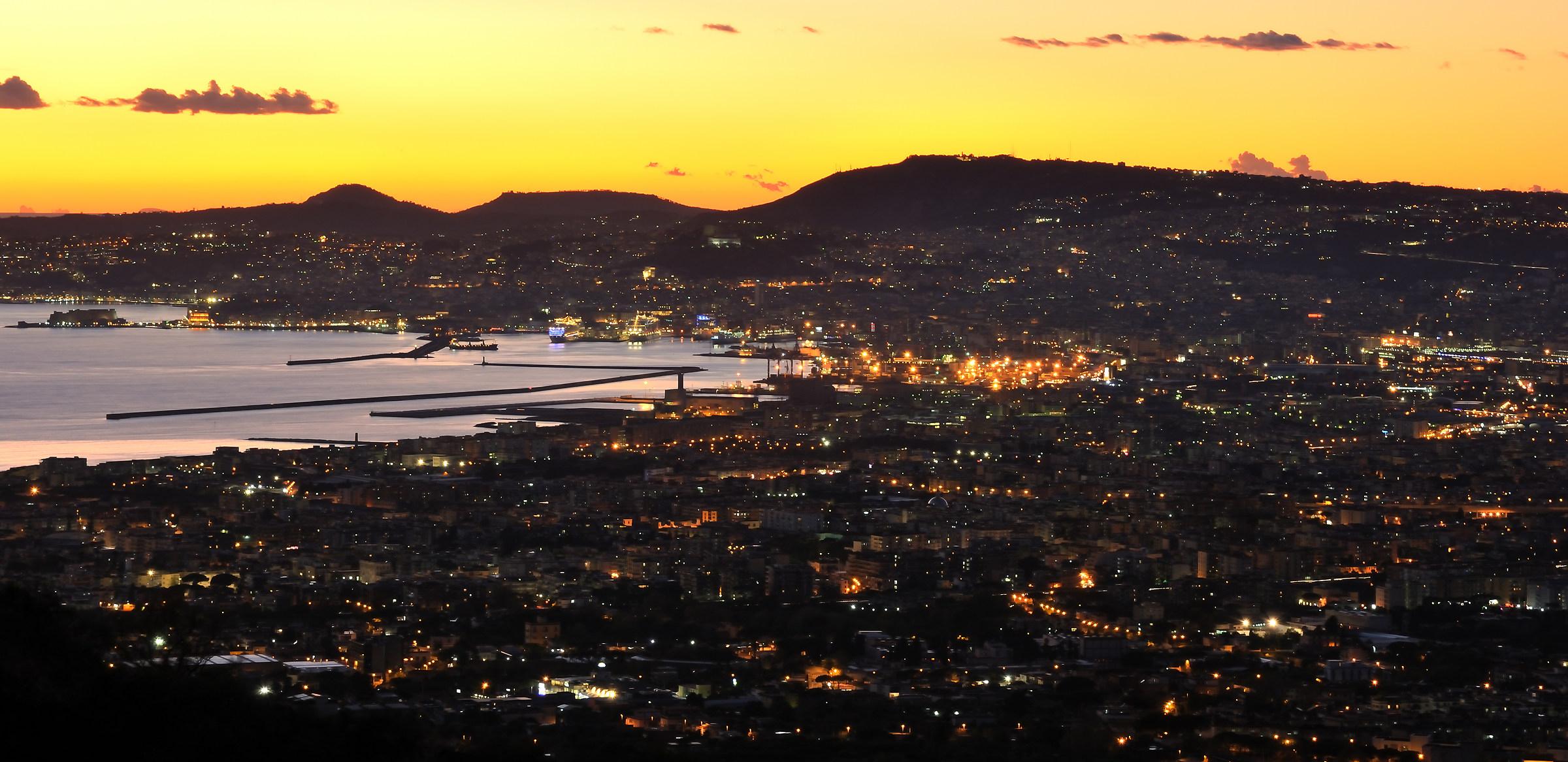 The yellow Naples...