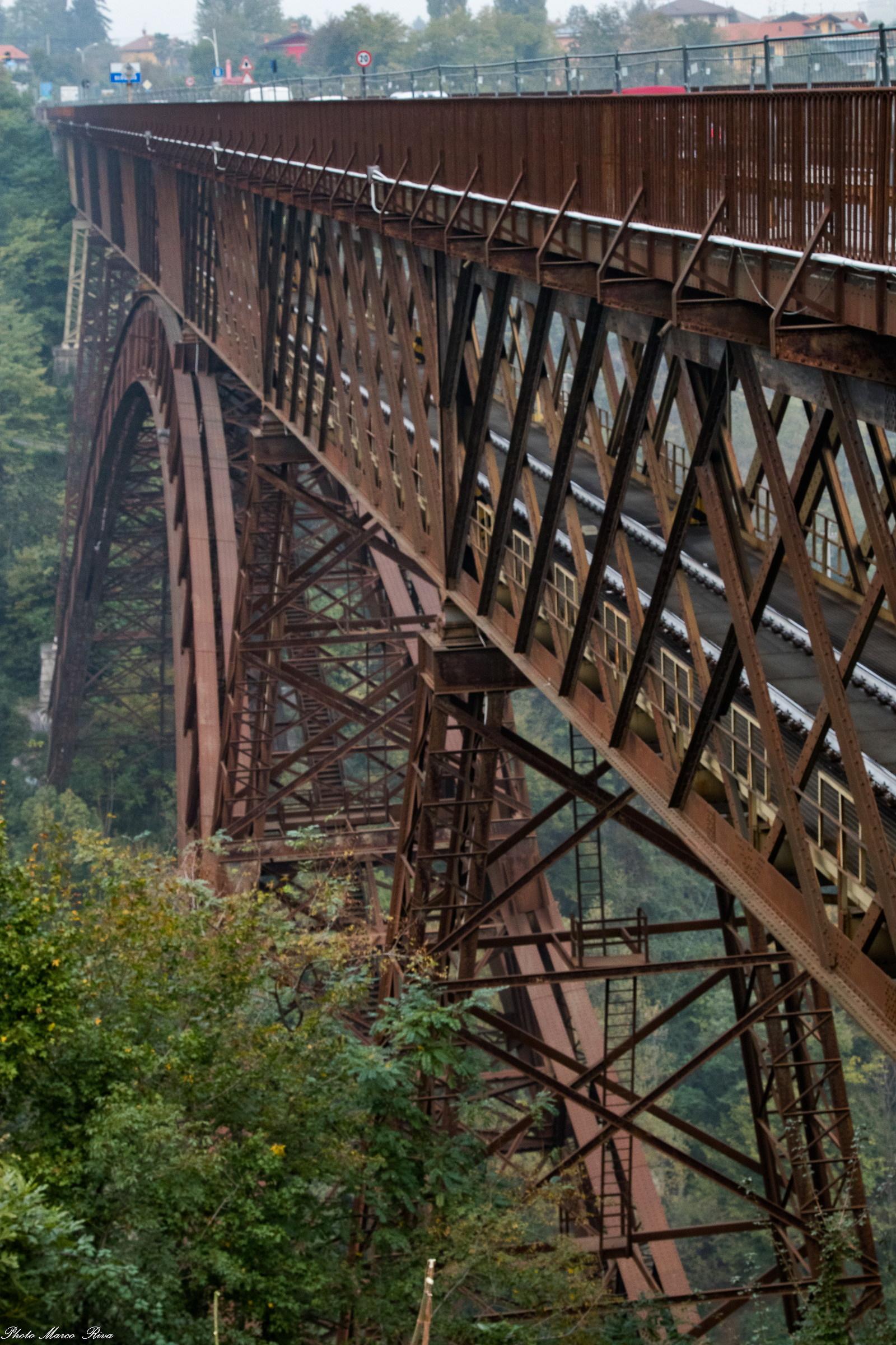Bridge of Paderno d'Adda...