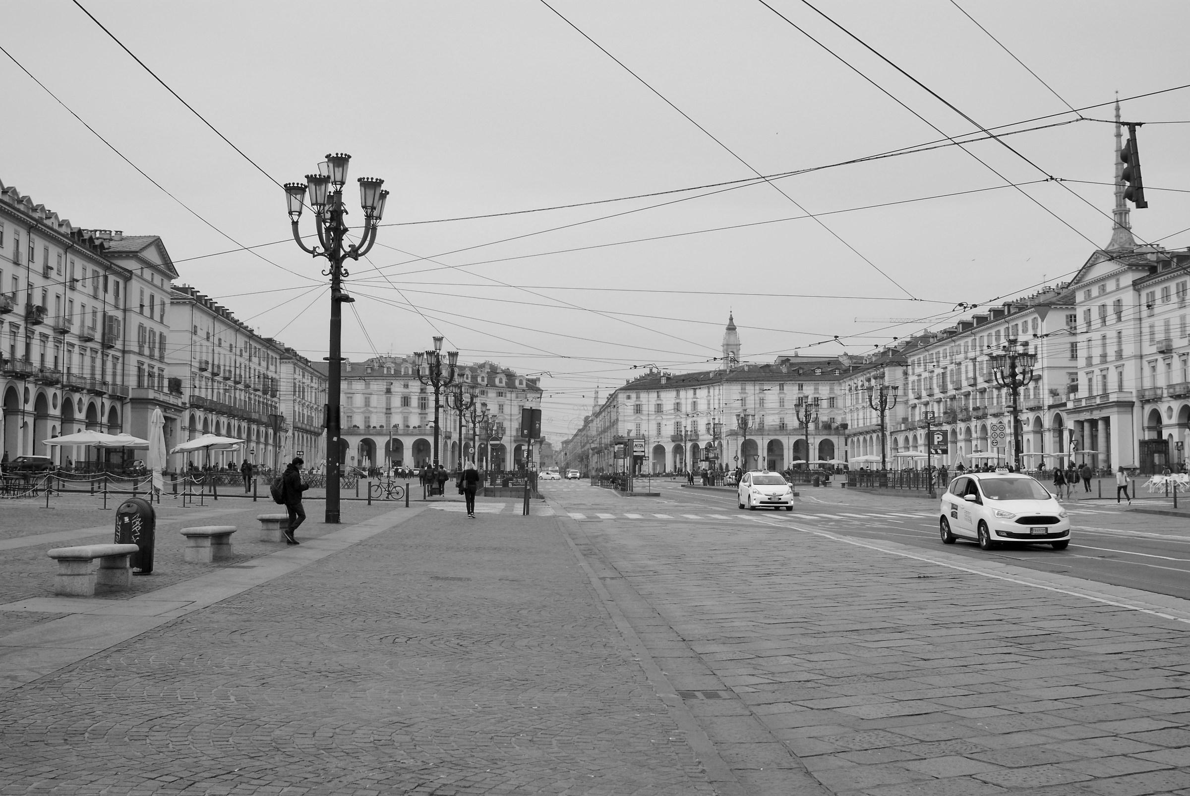 Piazza Vittorio...