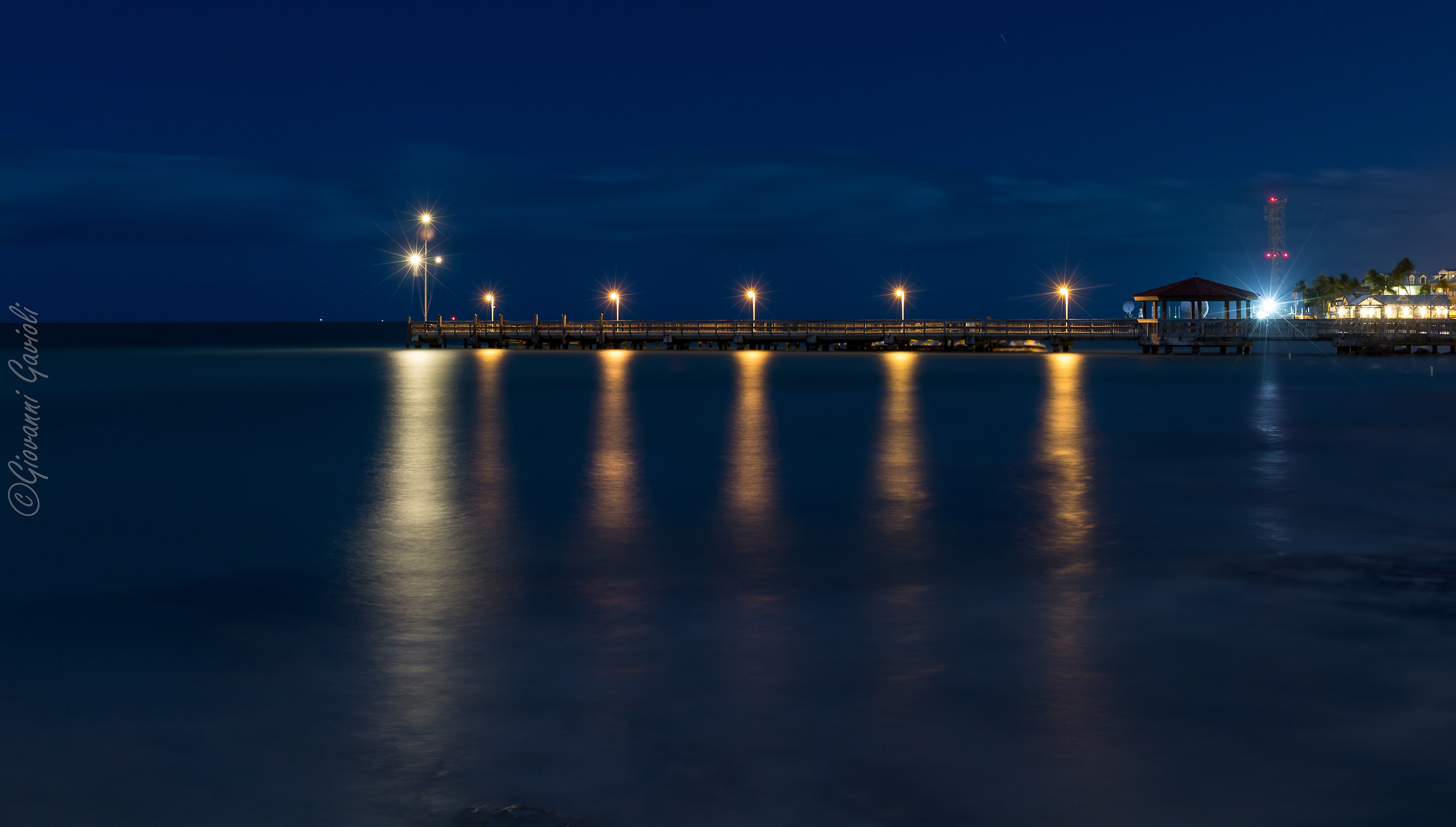 Pier at night...