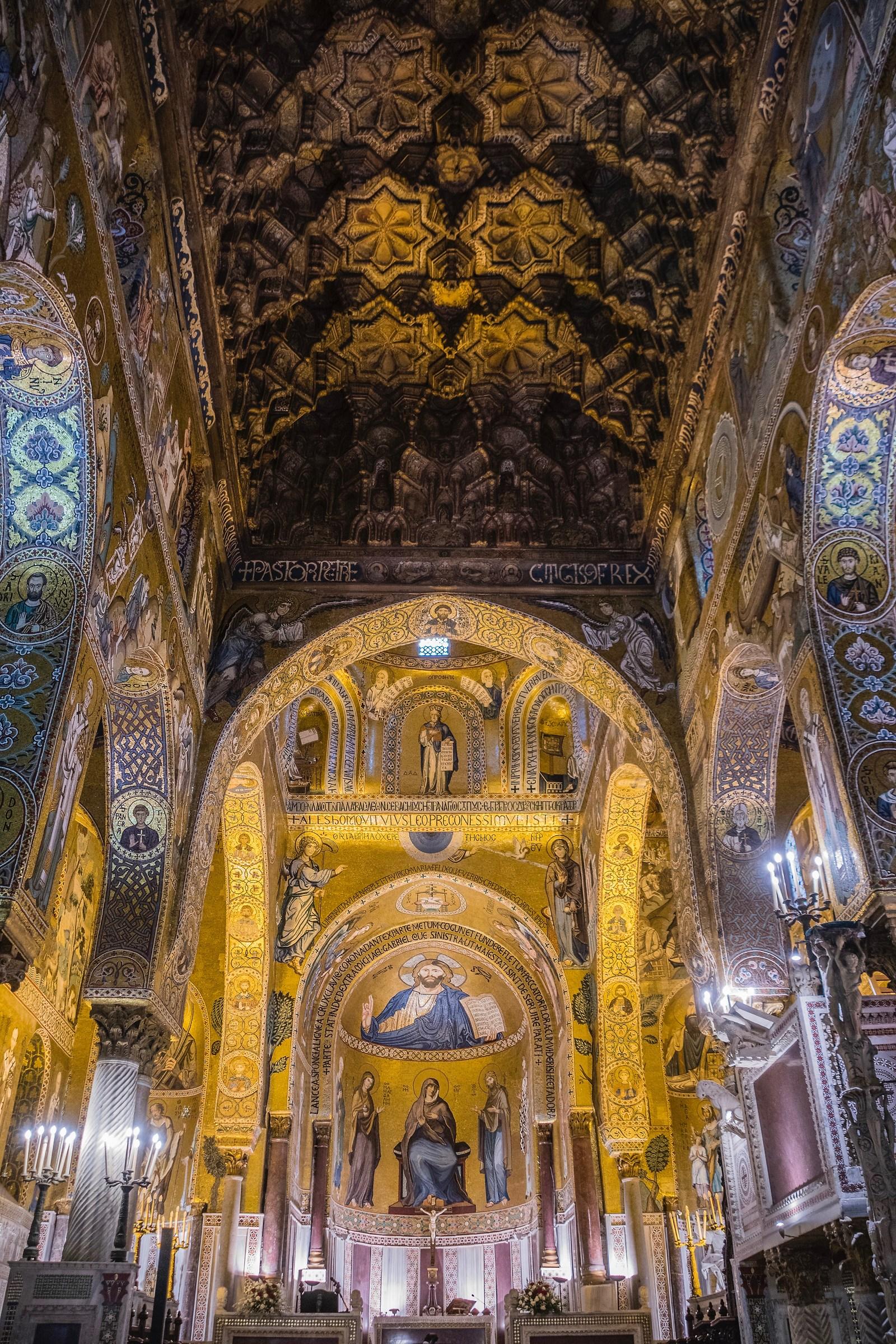Cappella Palatina, Palermo...
