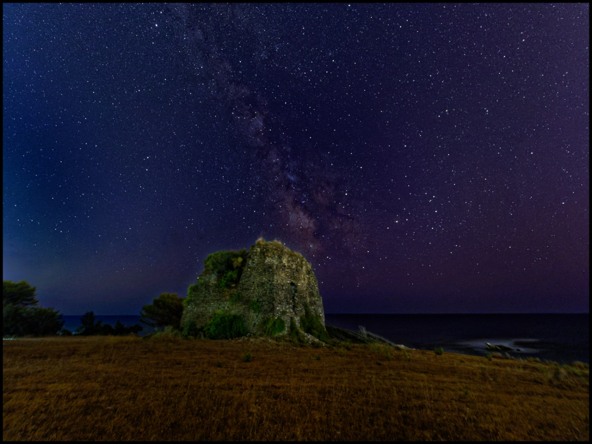 Milky way to the Saracen tower...