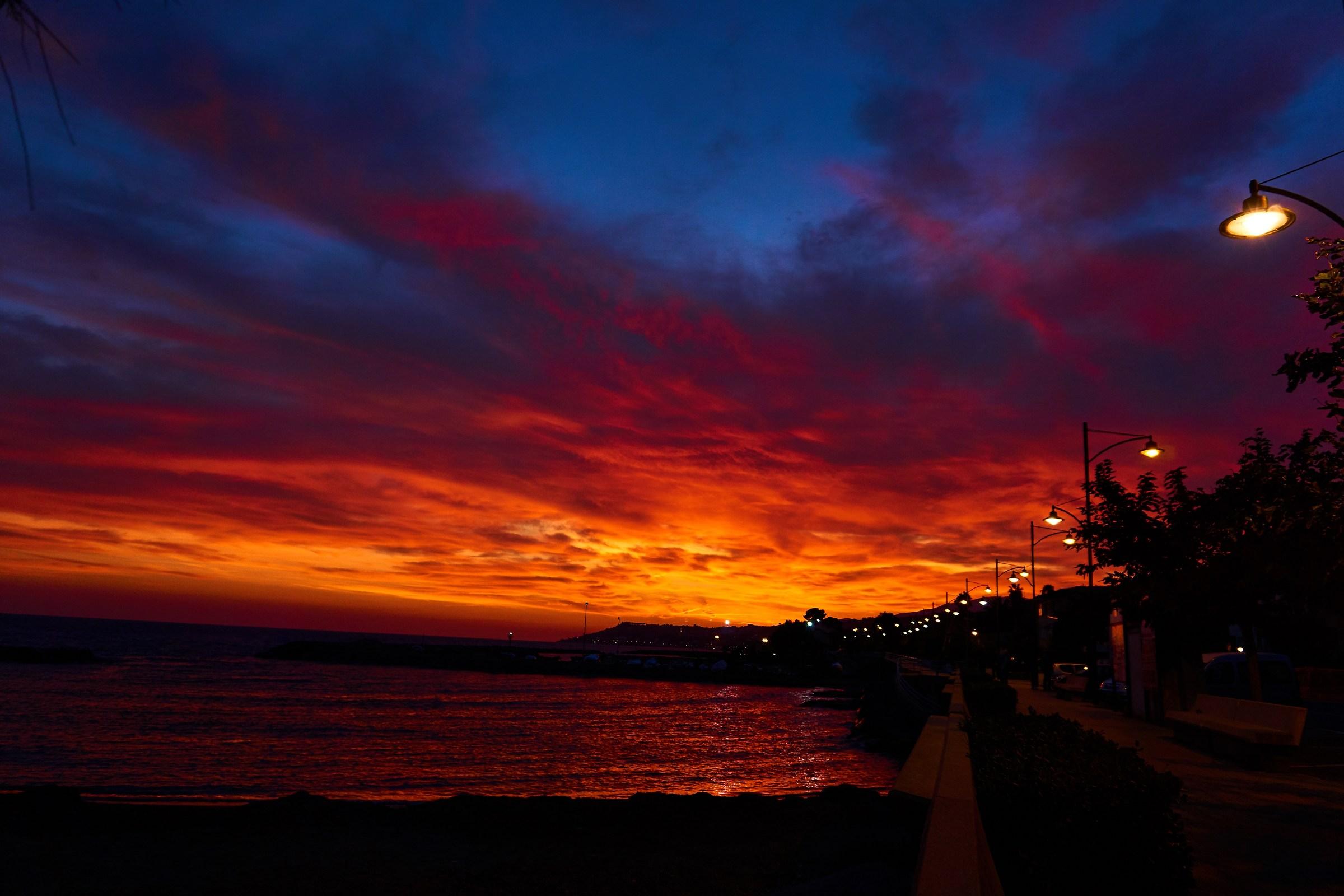 sunset at stefano saint...