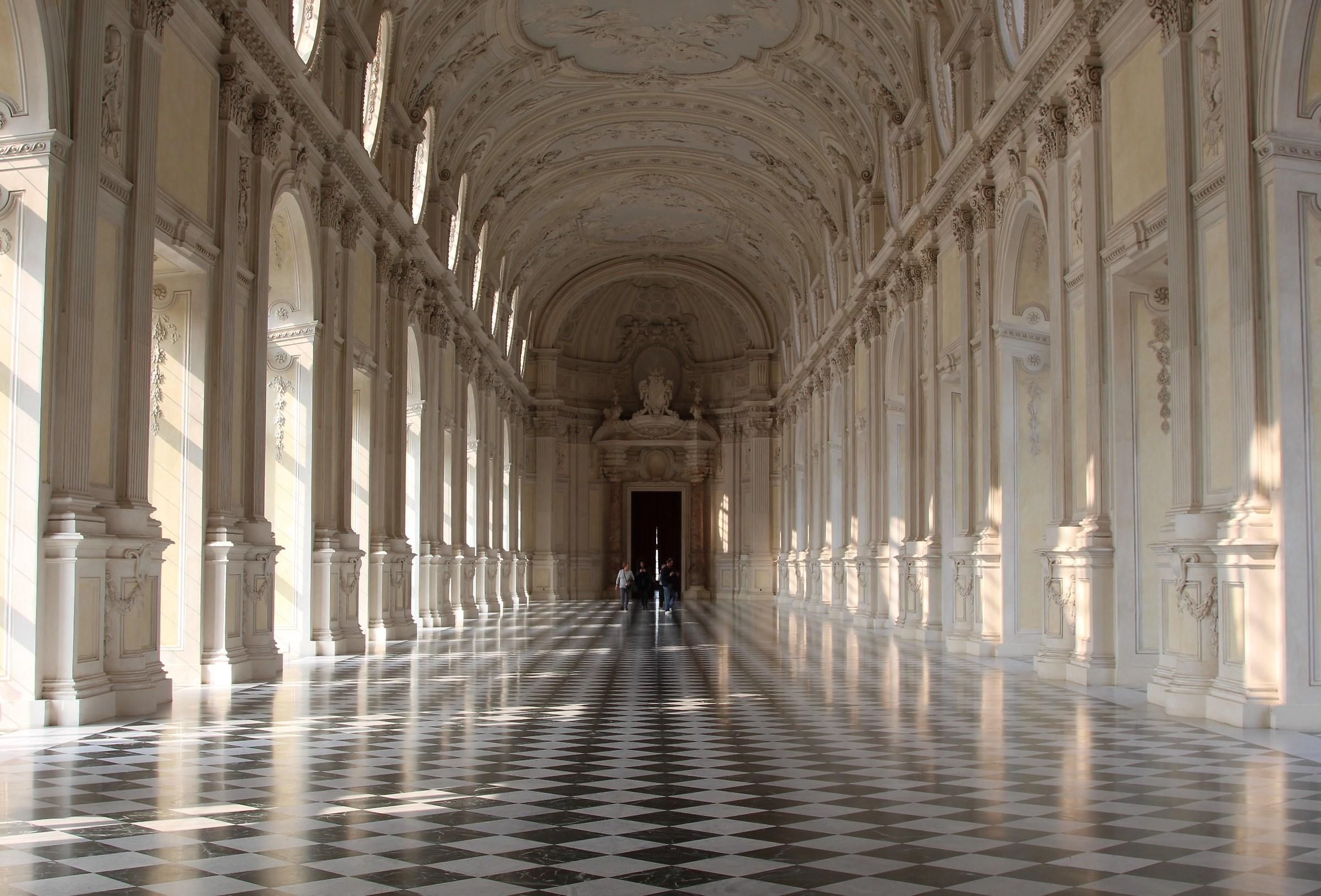 Interior of the Venaria Reggia...