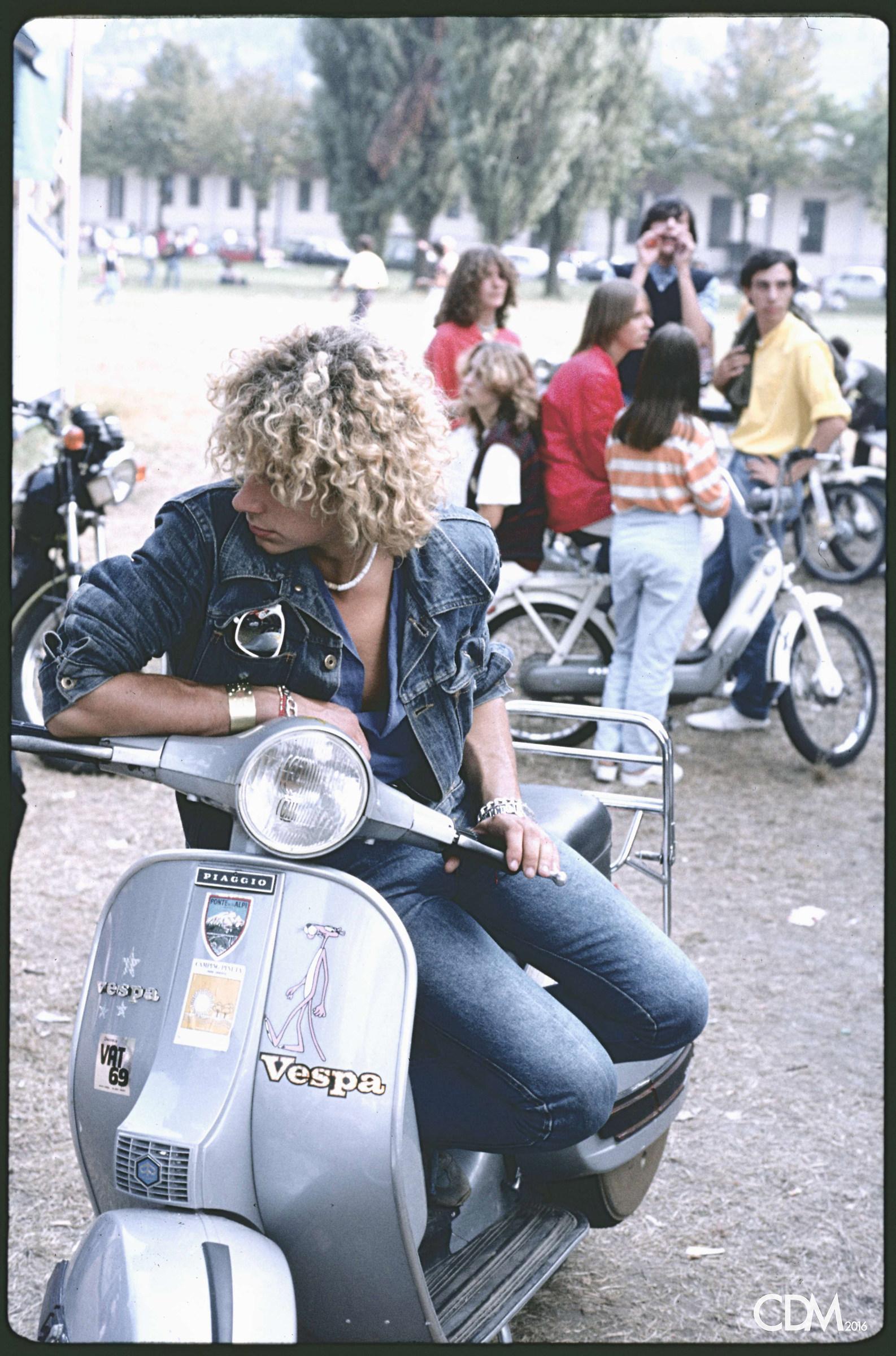 1980 at the rides...