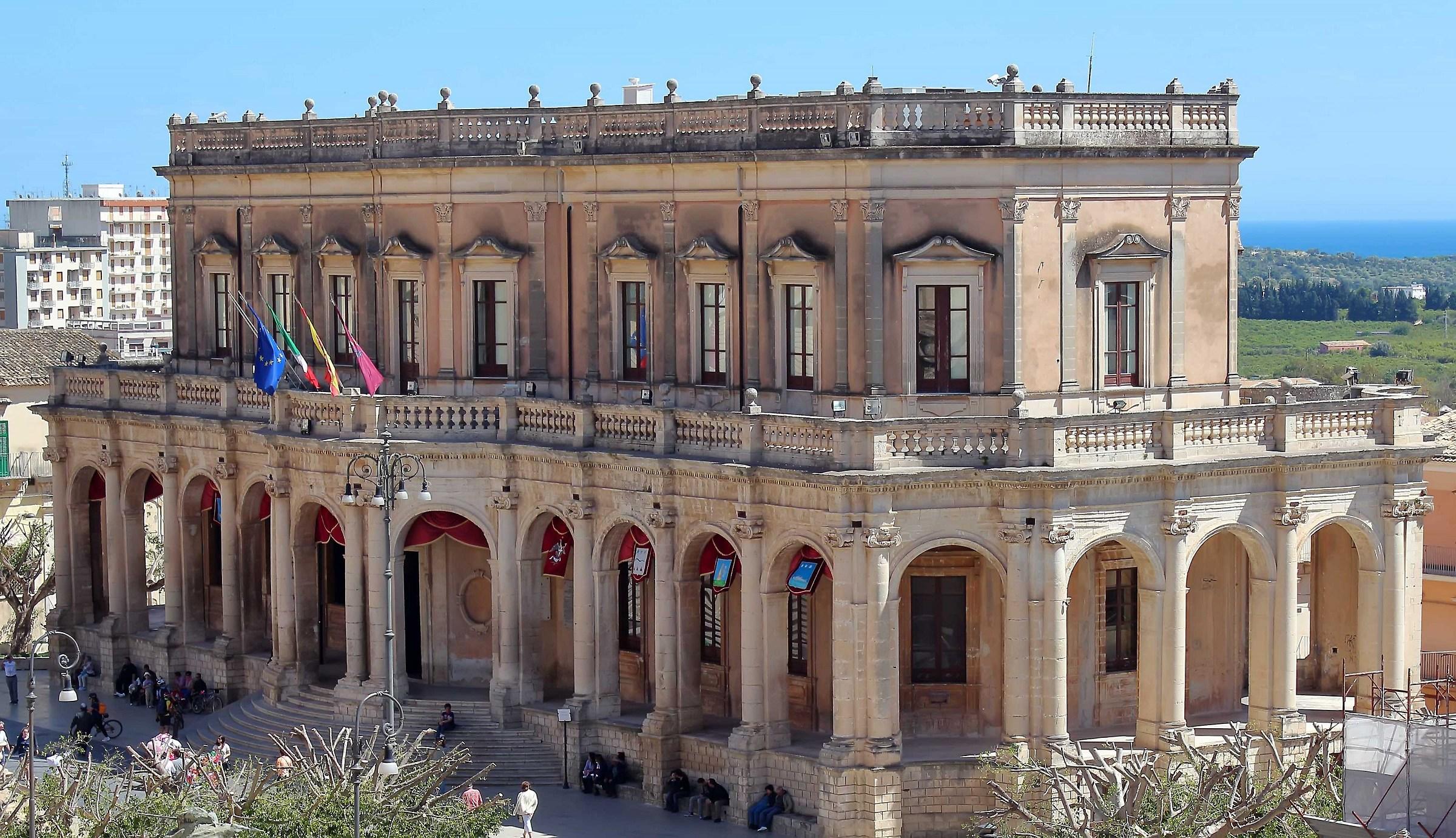 Palazzo Ducezio (Noto-Sr)...