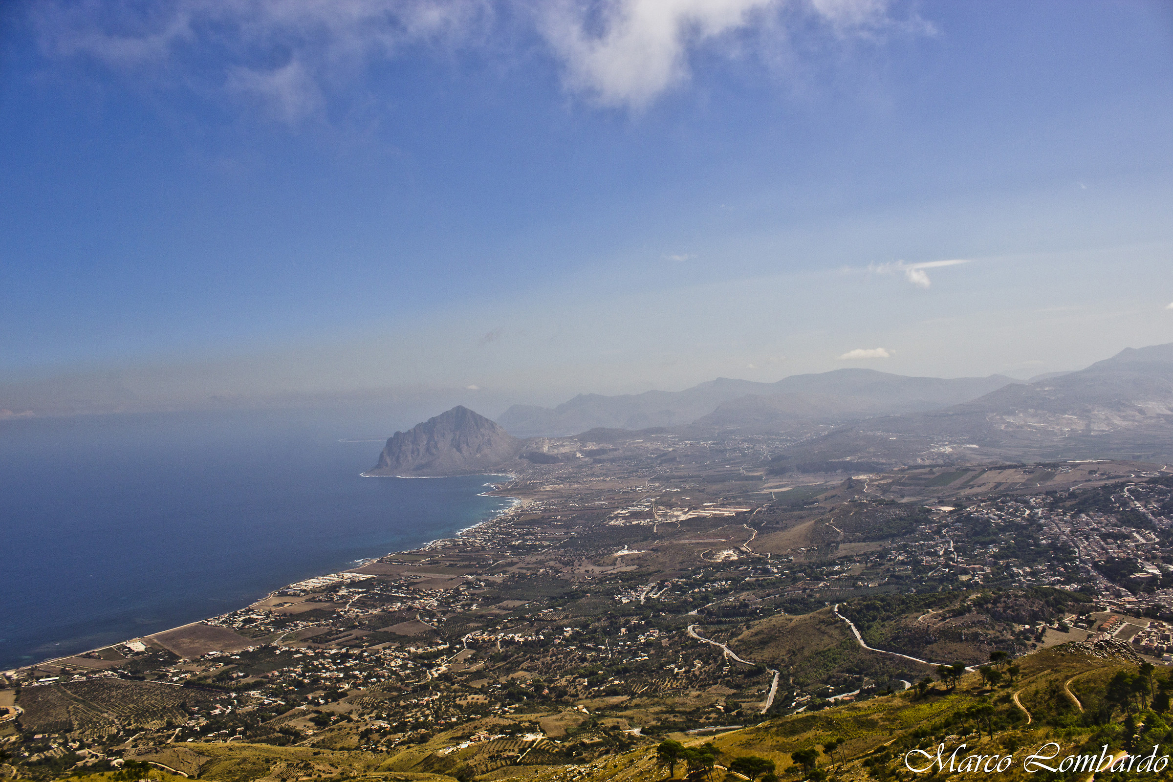 view from the erice...