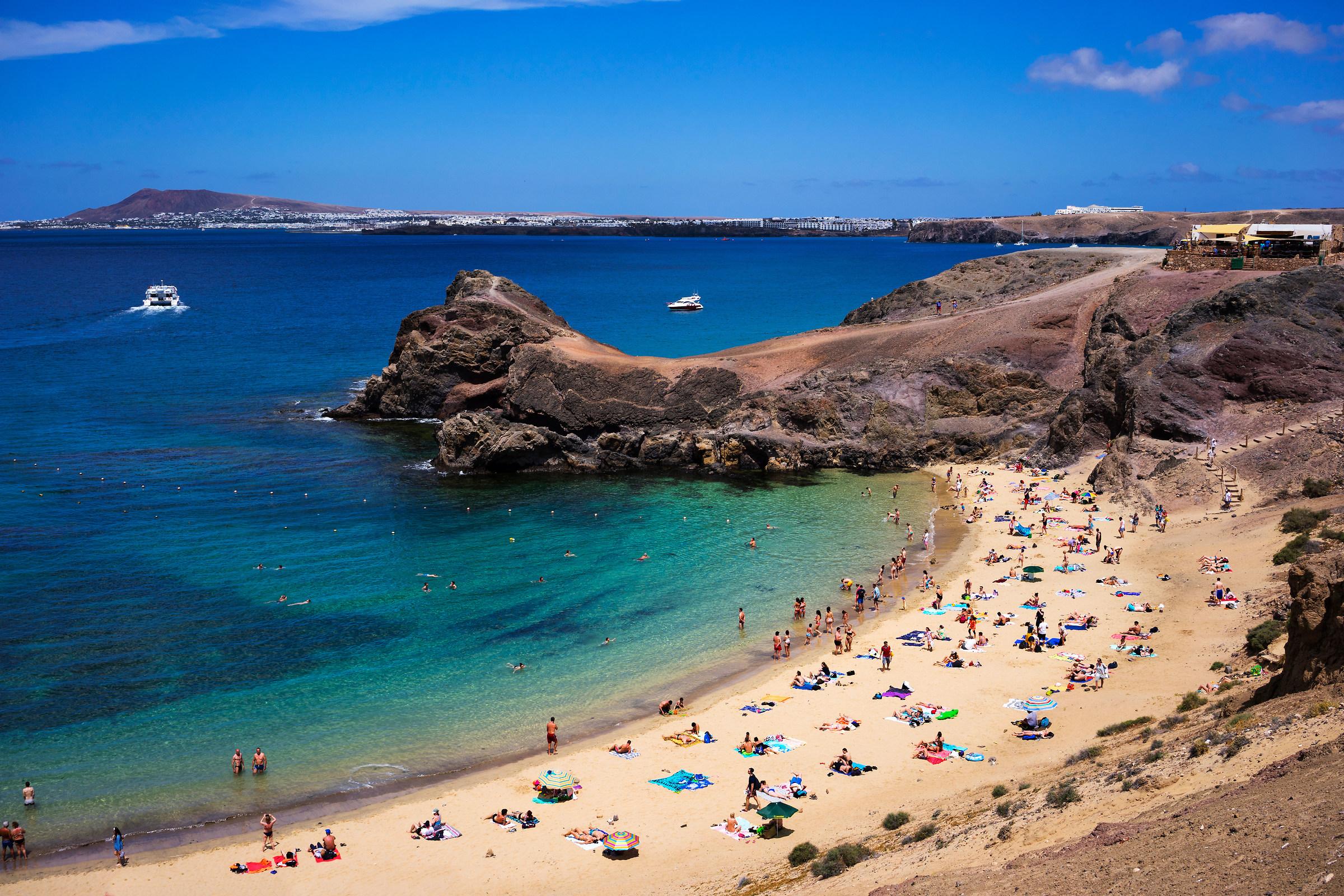 Papagayo beach, Lanzarote...