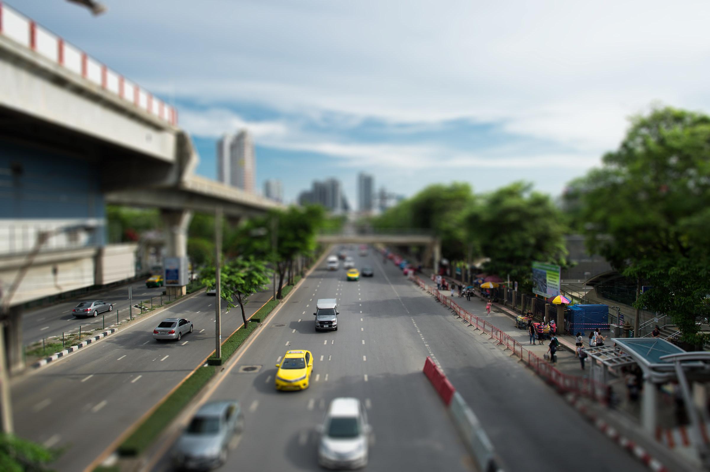 Bangkok vista da Chatuchak...