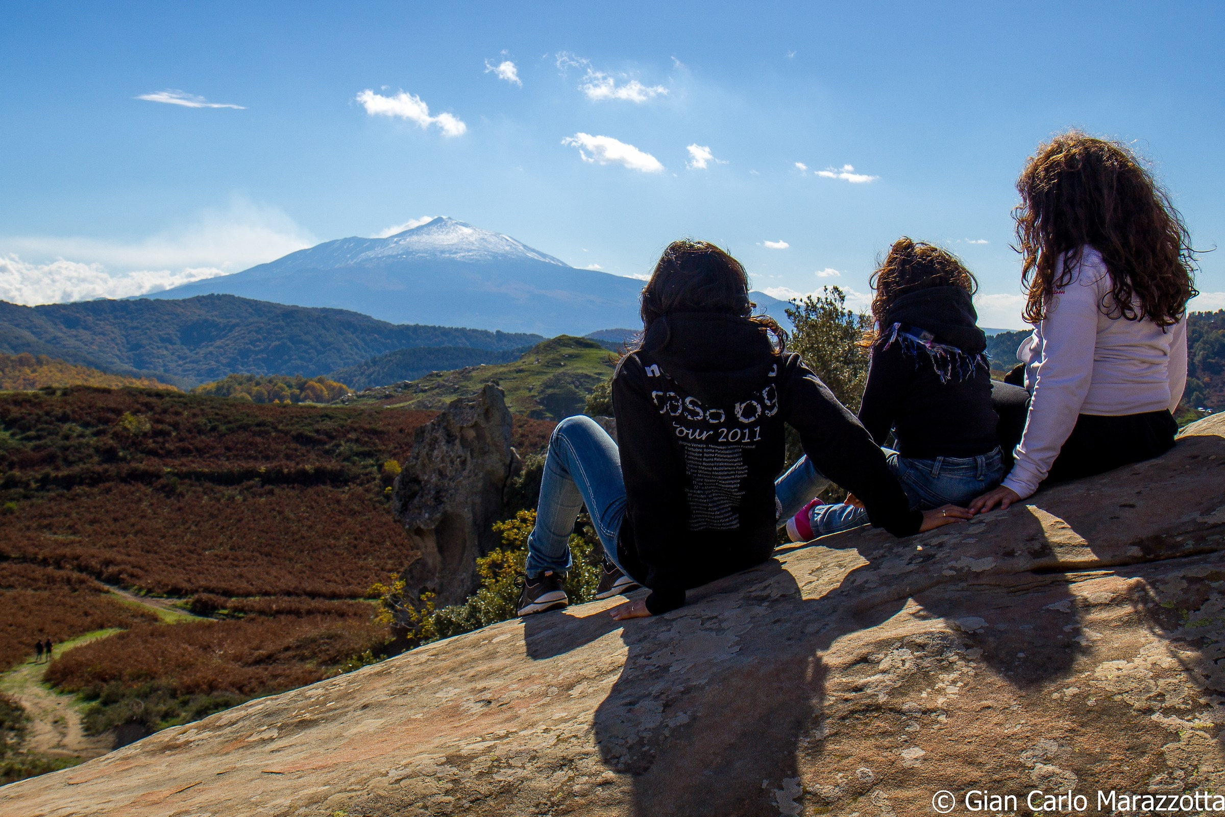 Looking at the Etna...