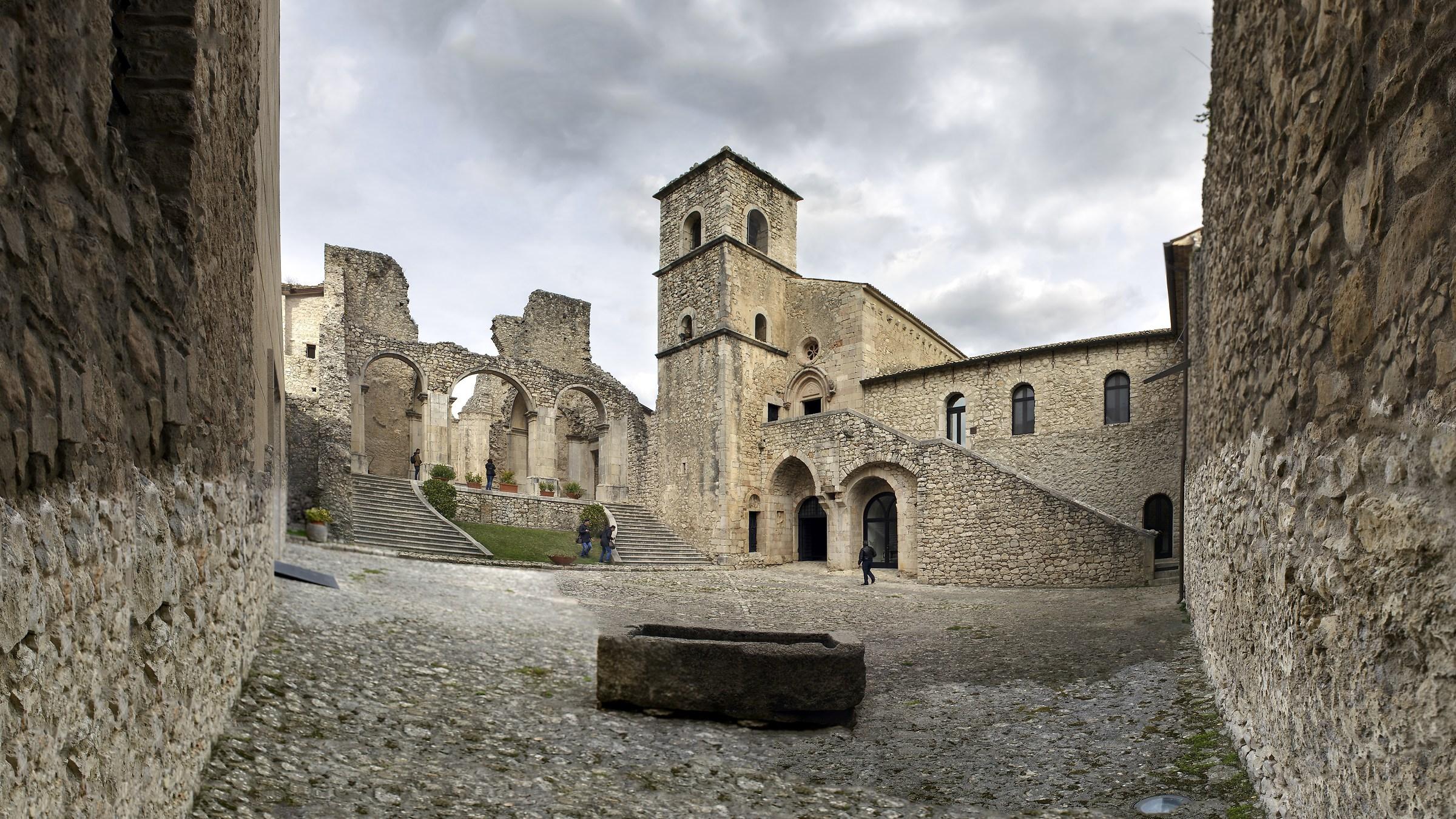 Abbey of Goleto...