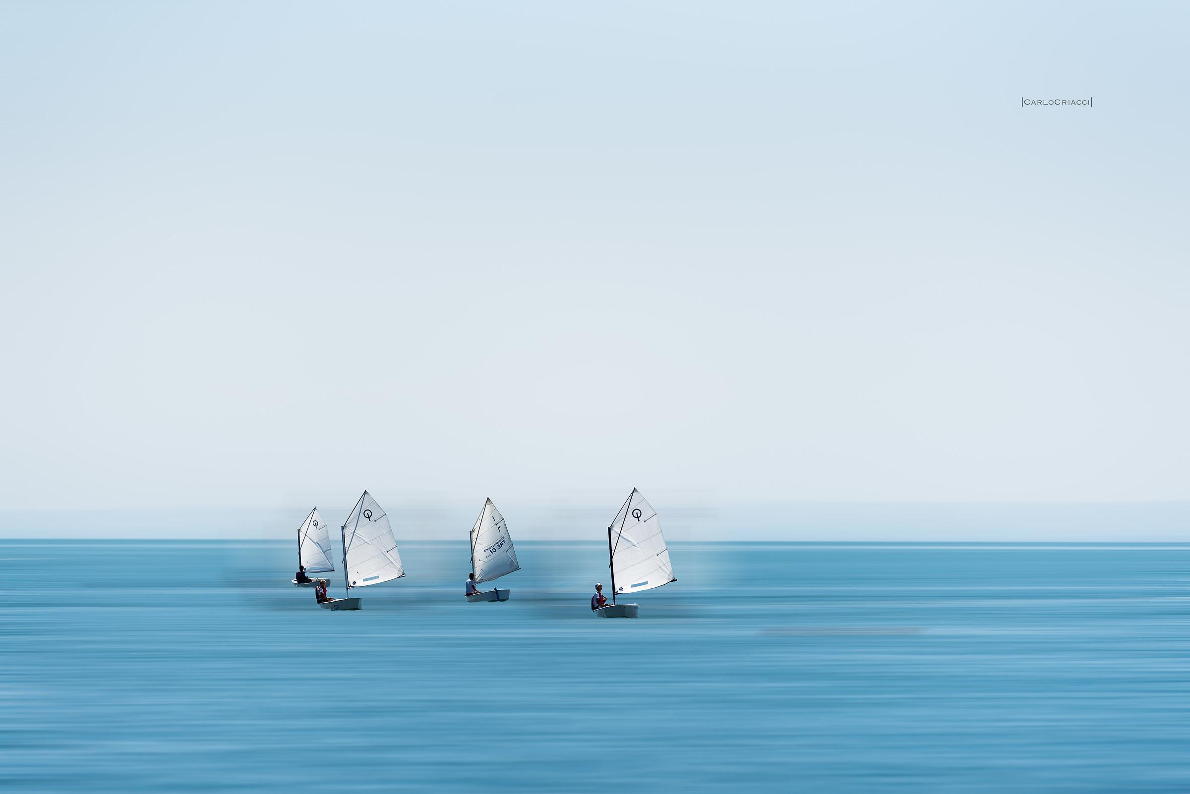 Small sailors grow...