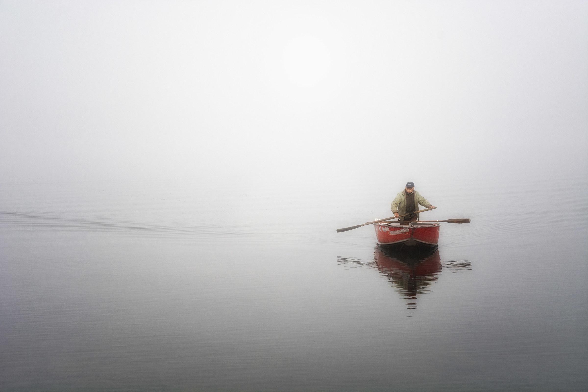 Il pescatore di Cazzago Brabbia...