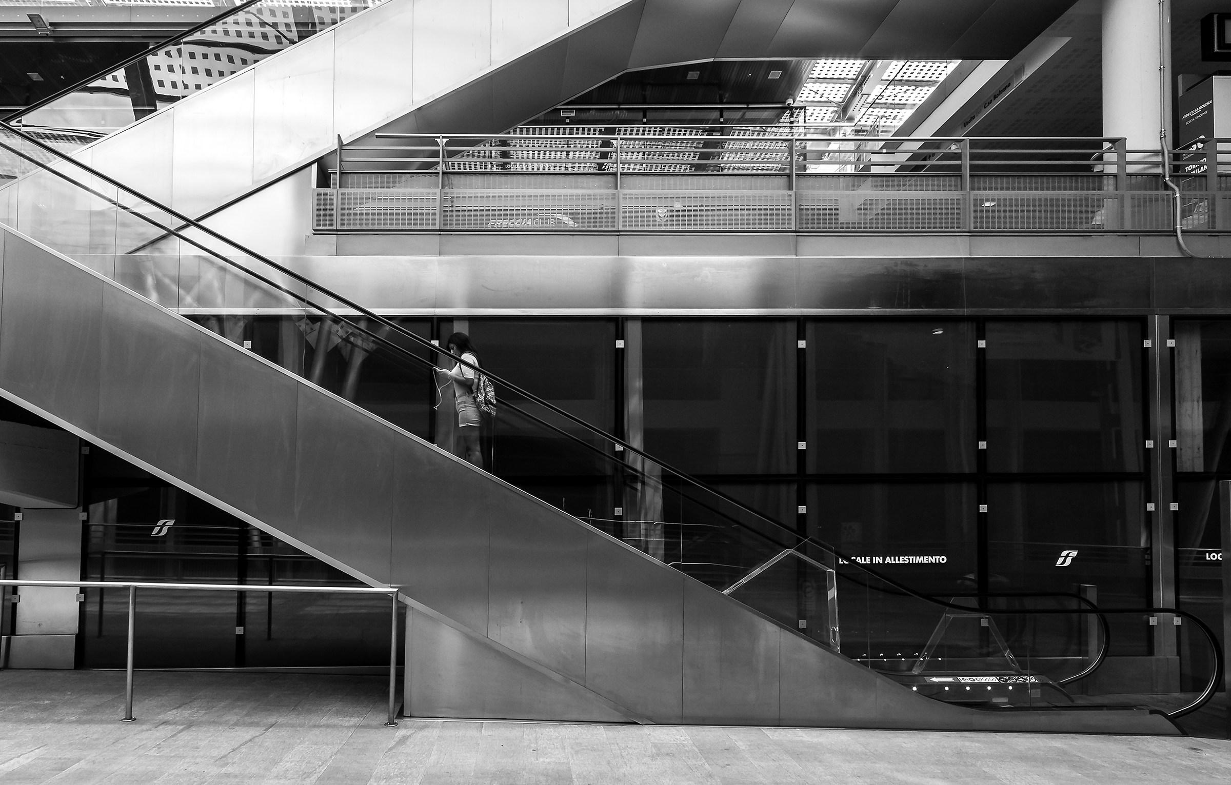 Scale mobili juzaphoto - Sognare scale mobili ...