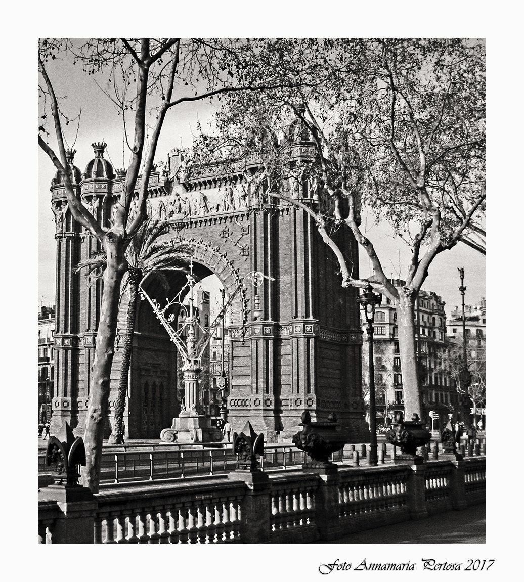 L'Arco di Trionfo di Barcellona...