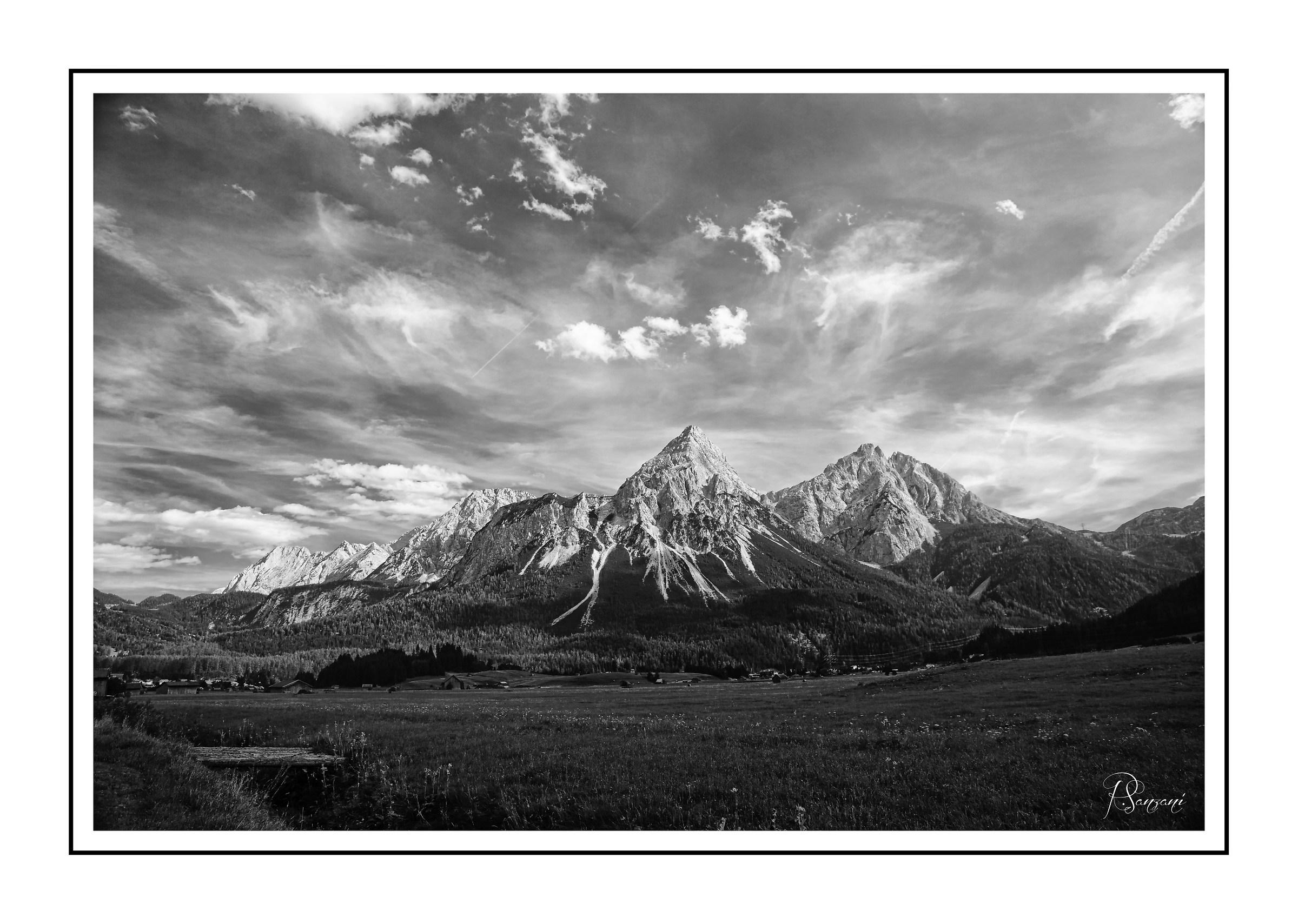 La Zugspitze...