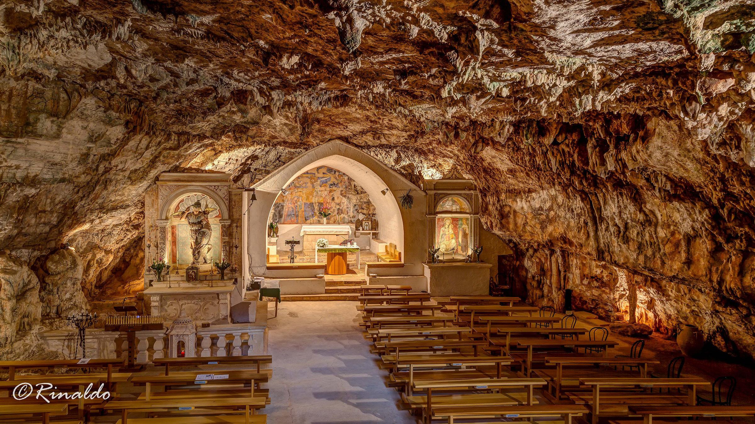 San Michele Grotto in Monte Laureto in Putignano...