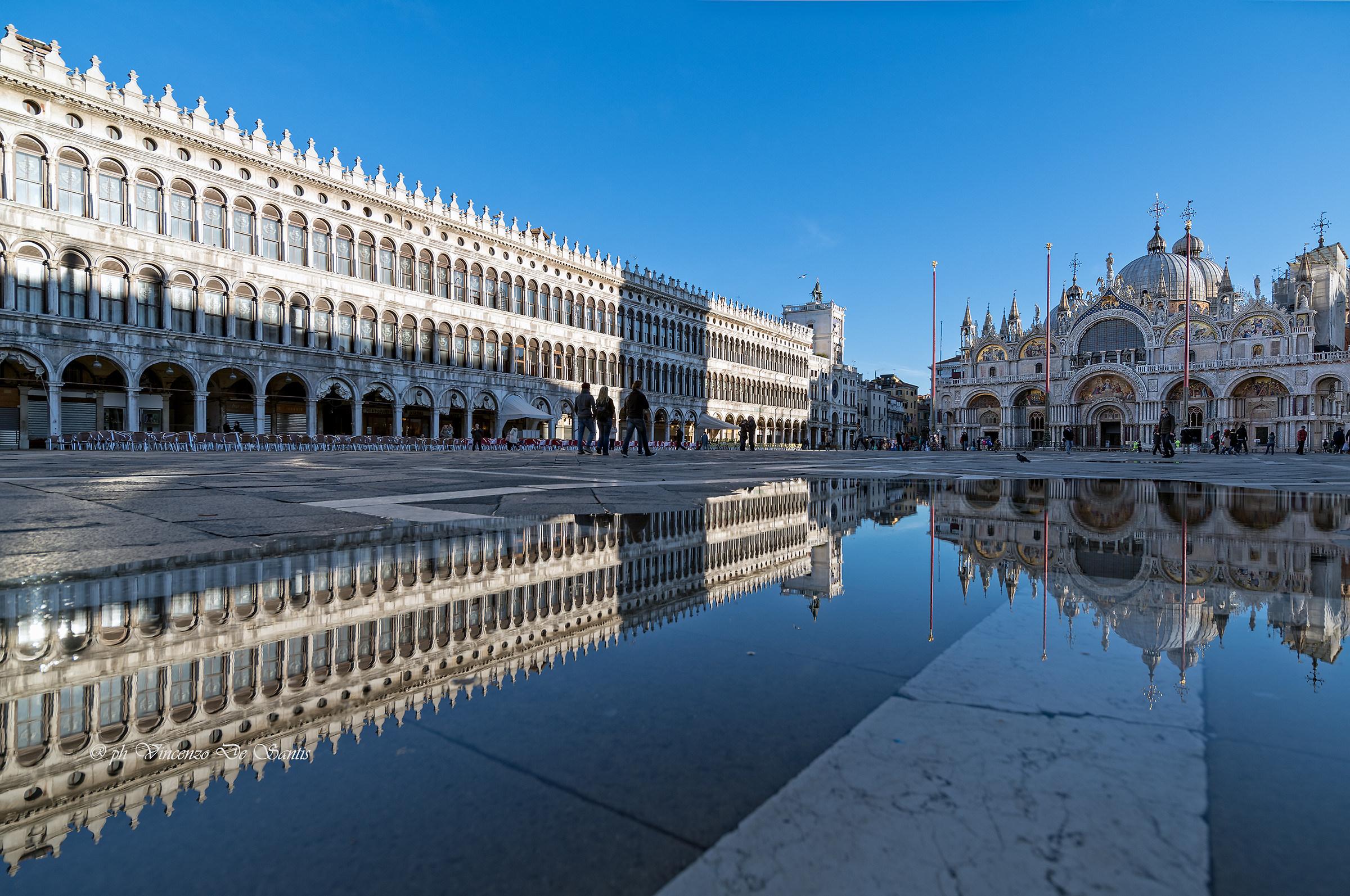 pozzanghere in Venezia...