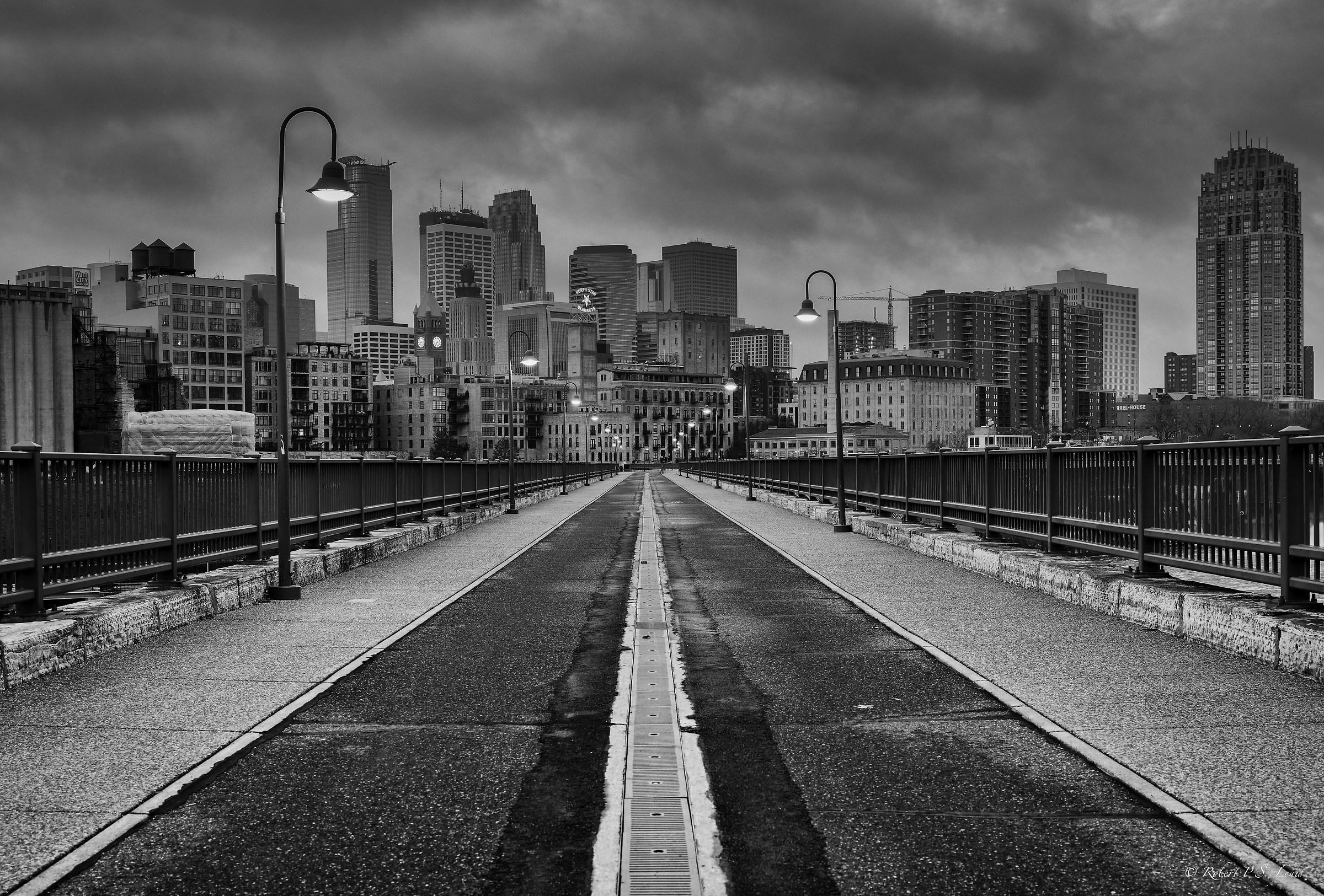 Minneapolis - Winter Morning...