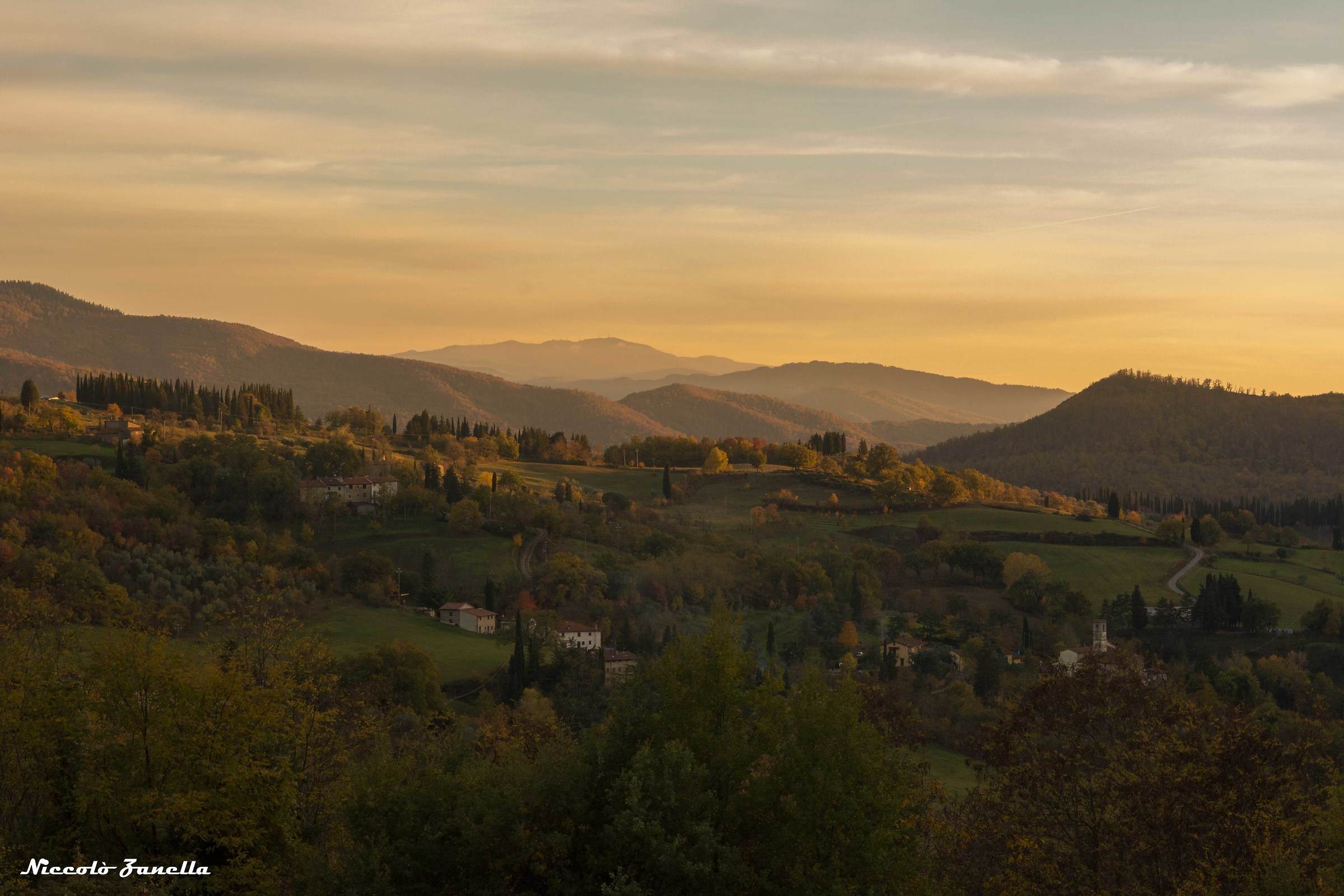 Mugello at sunset...