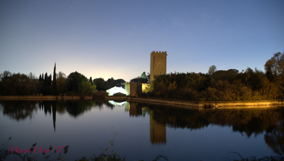 Blue Hour in Ninfa !!...