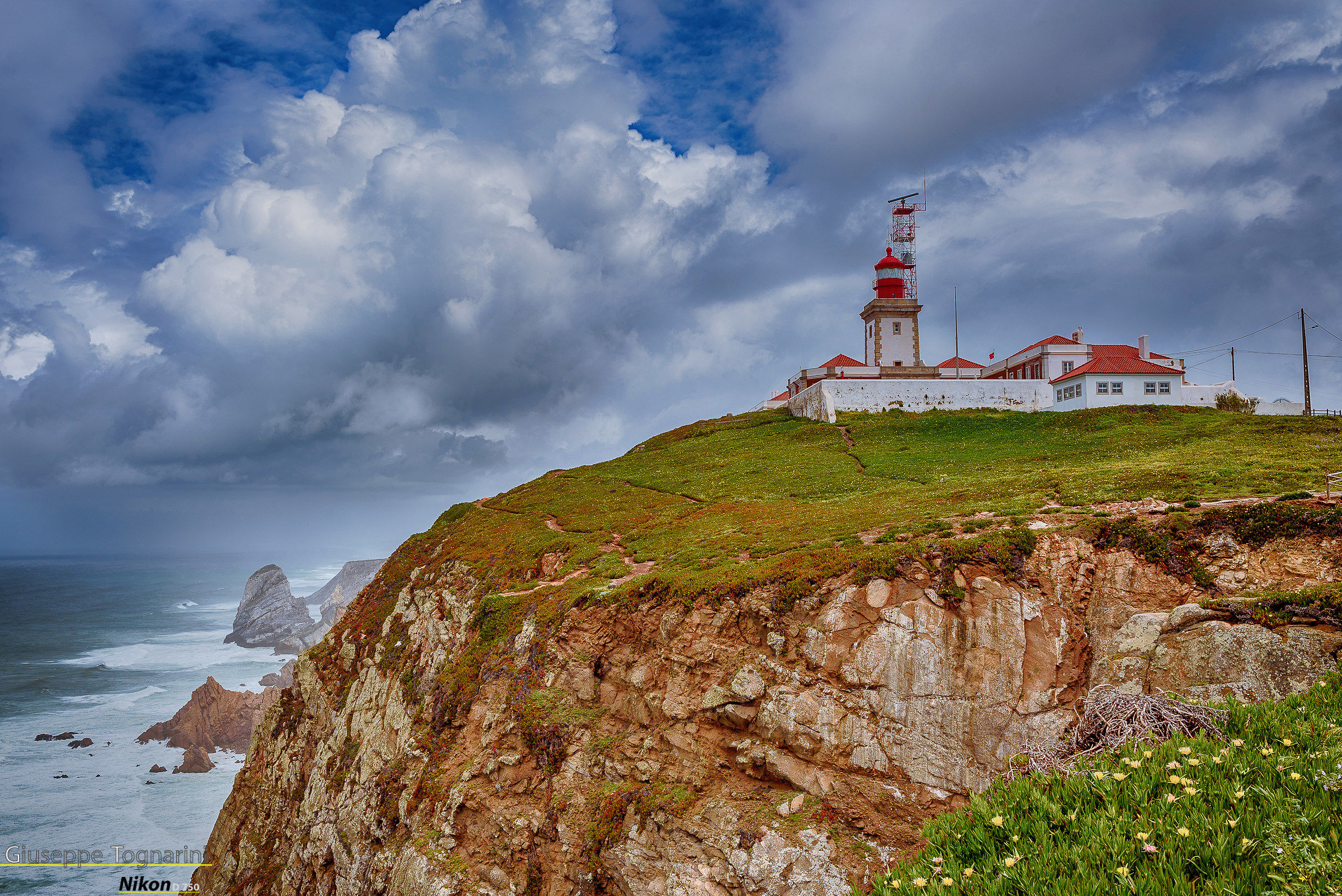 Cabo da Roca - the westernmost point in Europe...