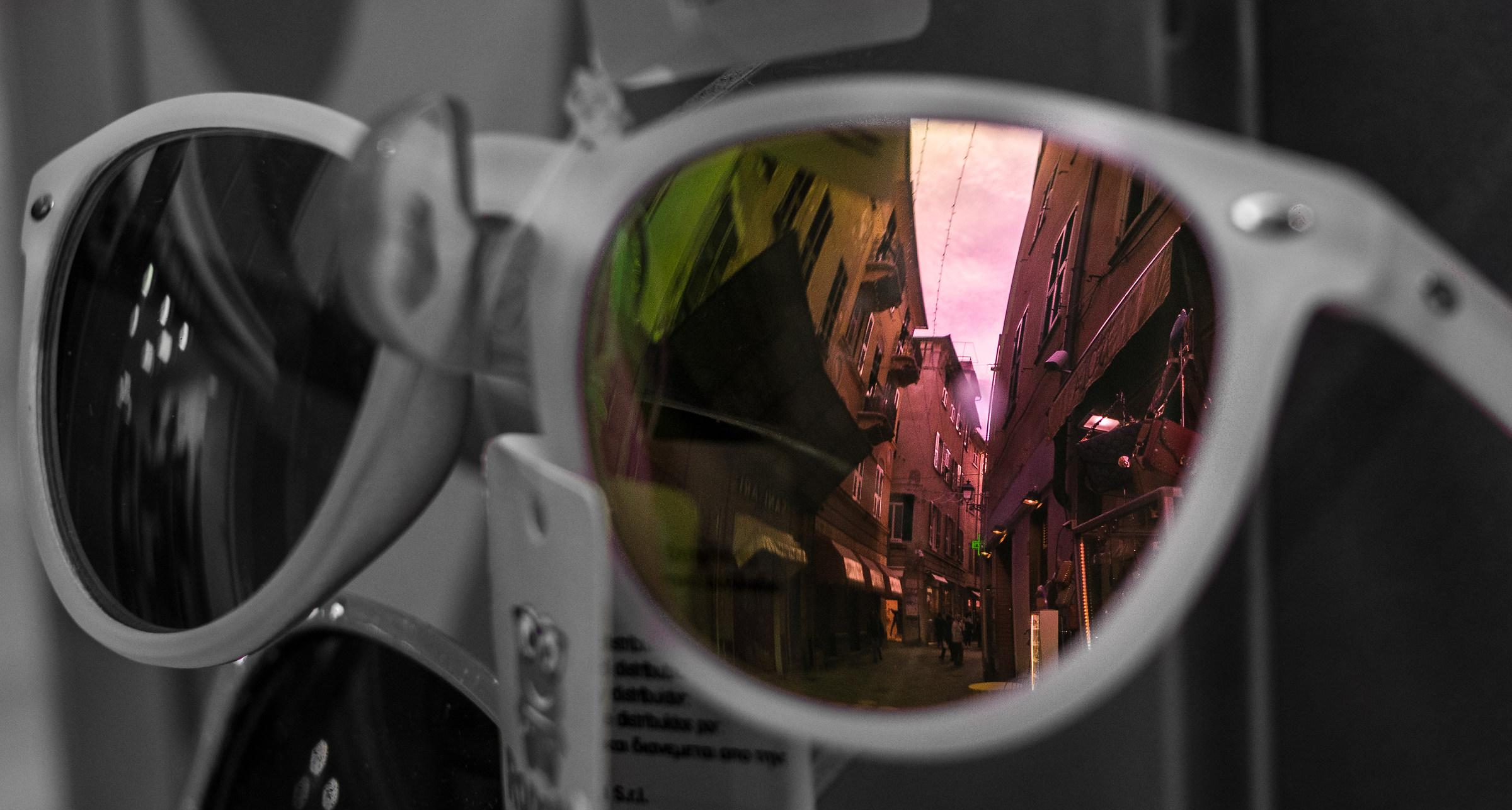 Reflected world...