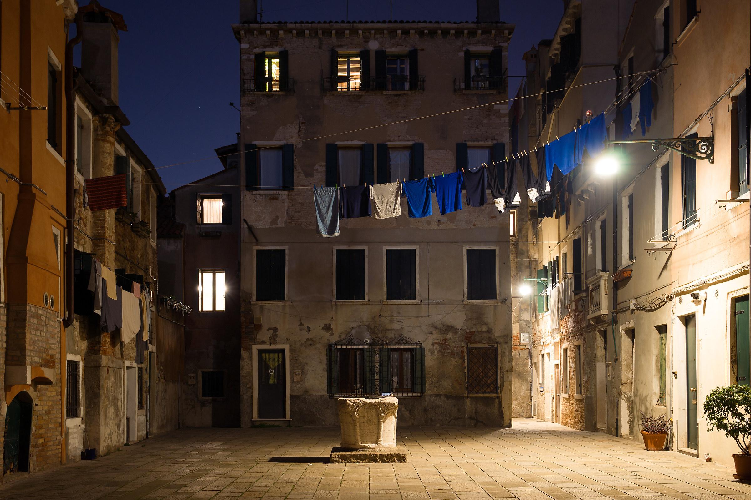 Venetian court...