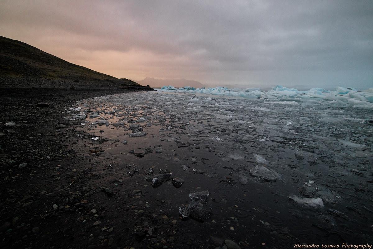 Ice lagoon...