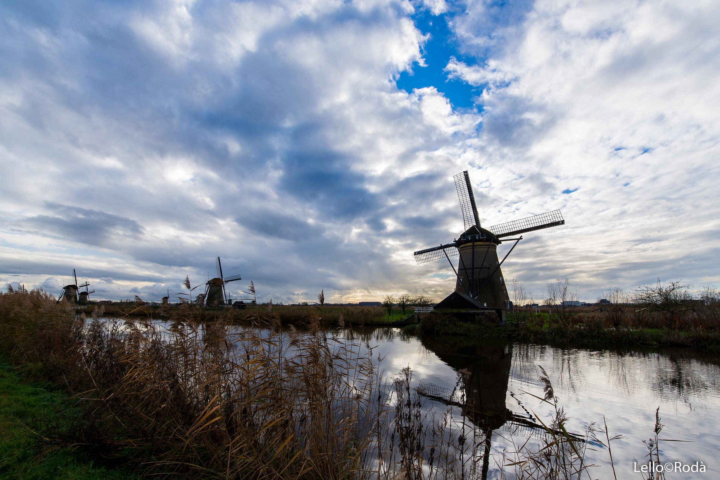 Kinderdijk Holland...