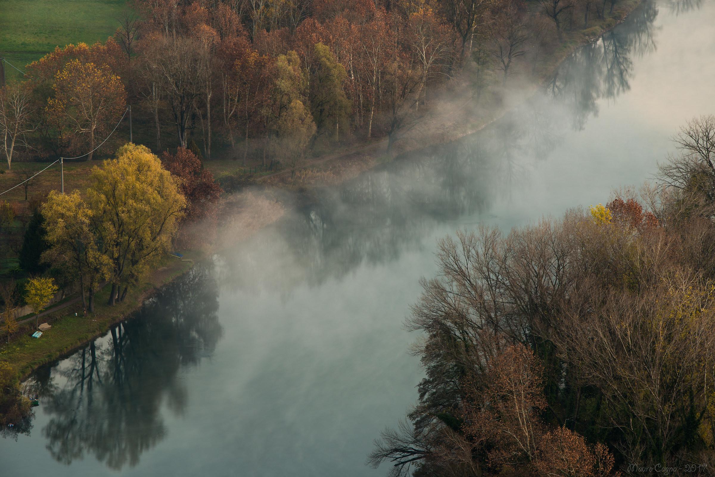 Airuno, nebbia d'autunno...