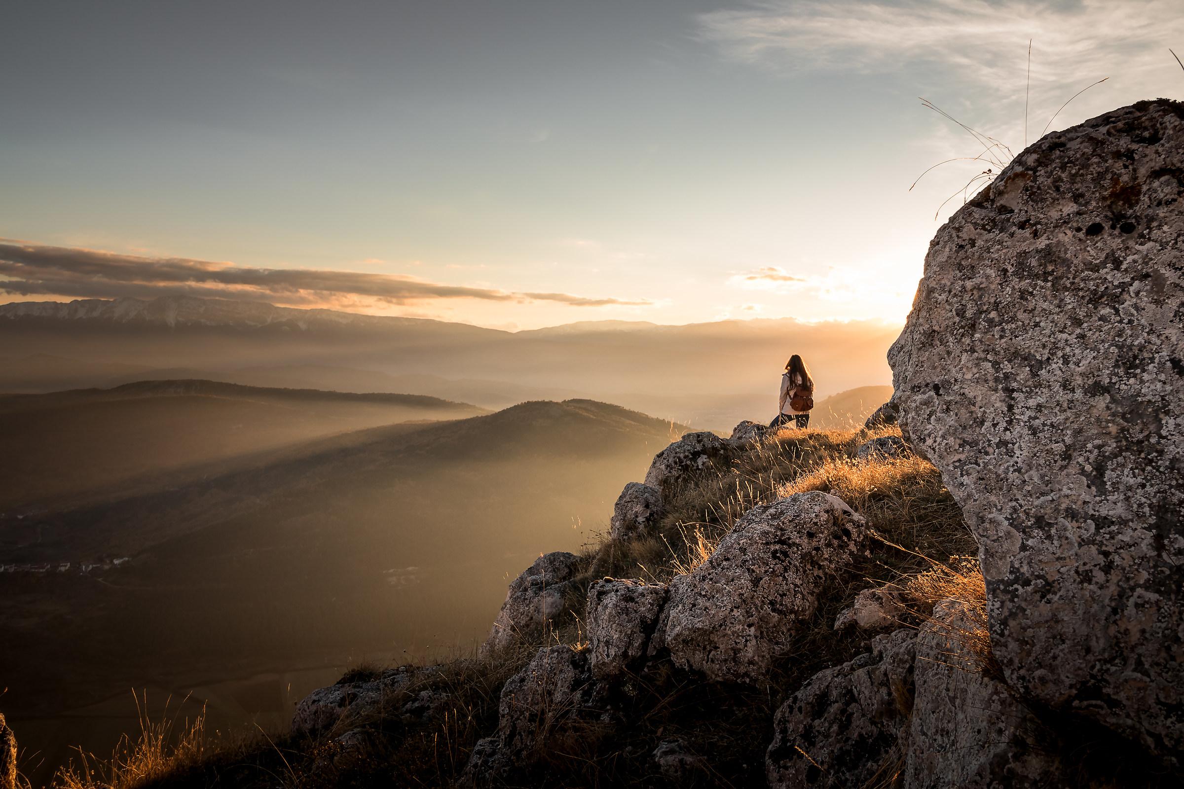 Sunset at Rocca Calascio...