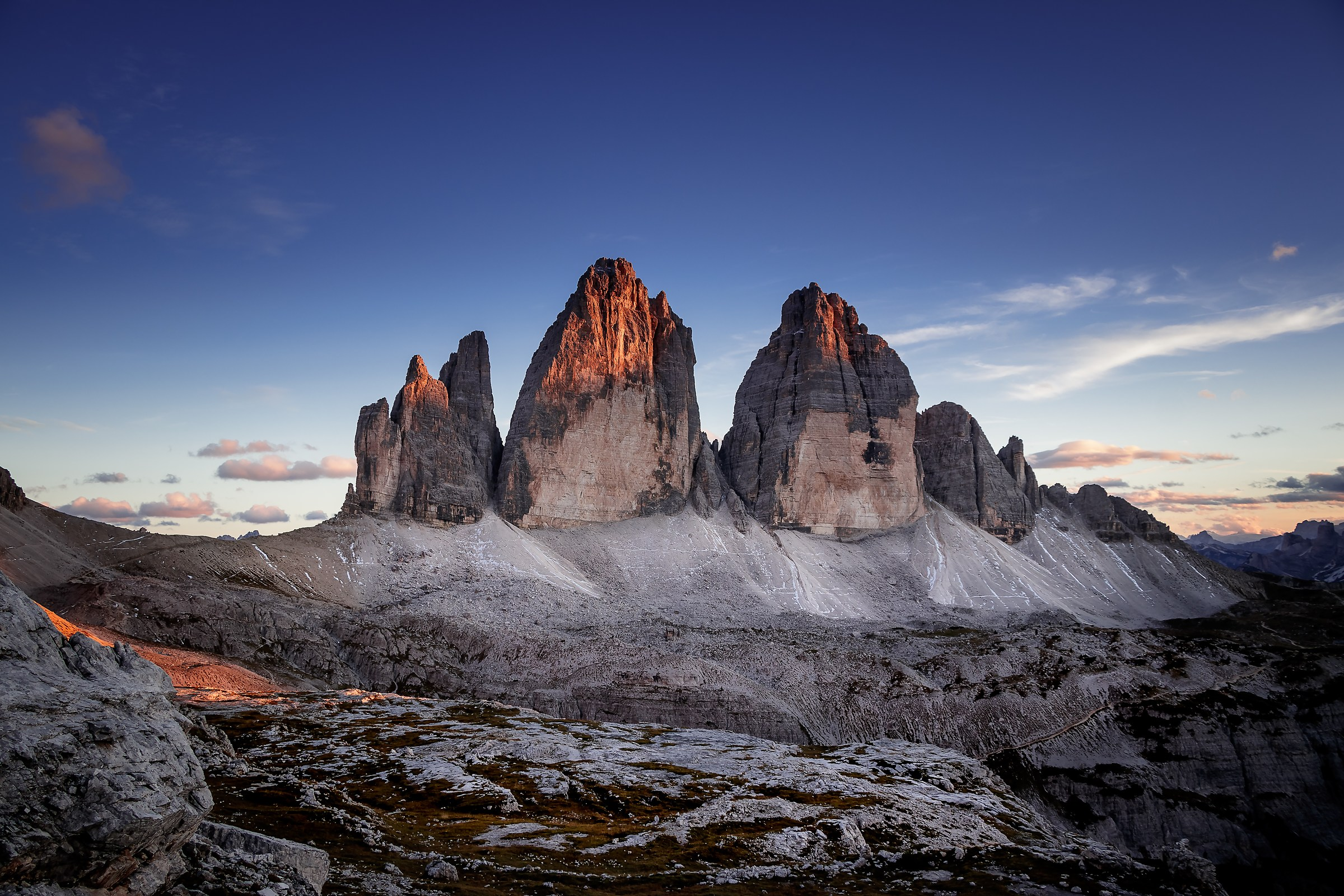 Sunset at Tre Cime di Lavaredo...
