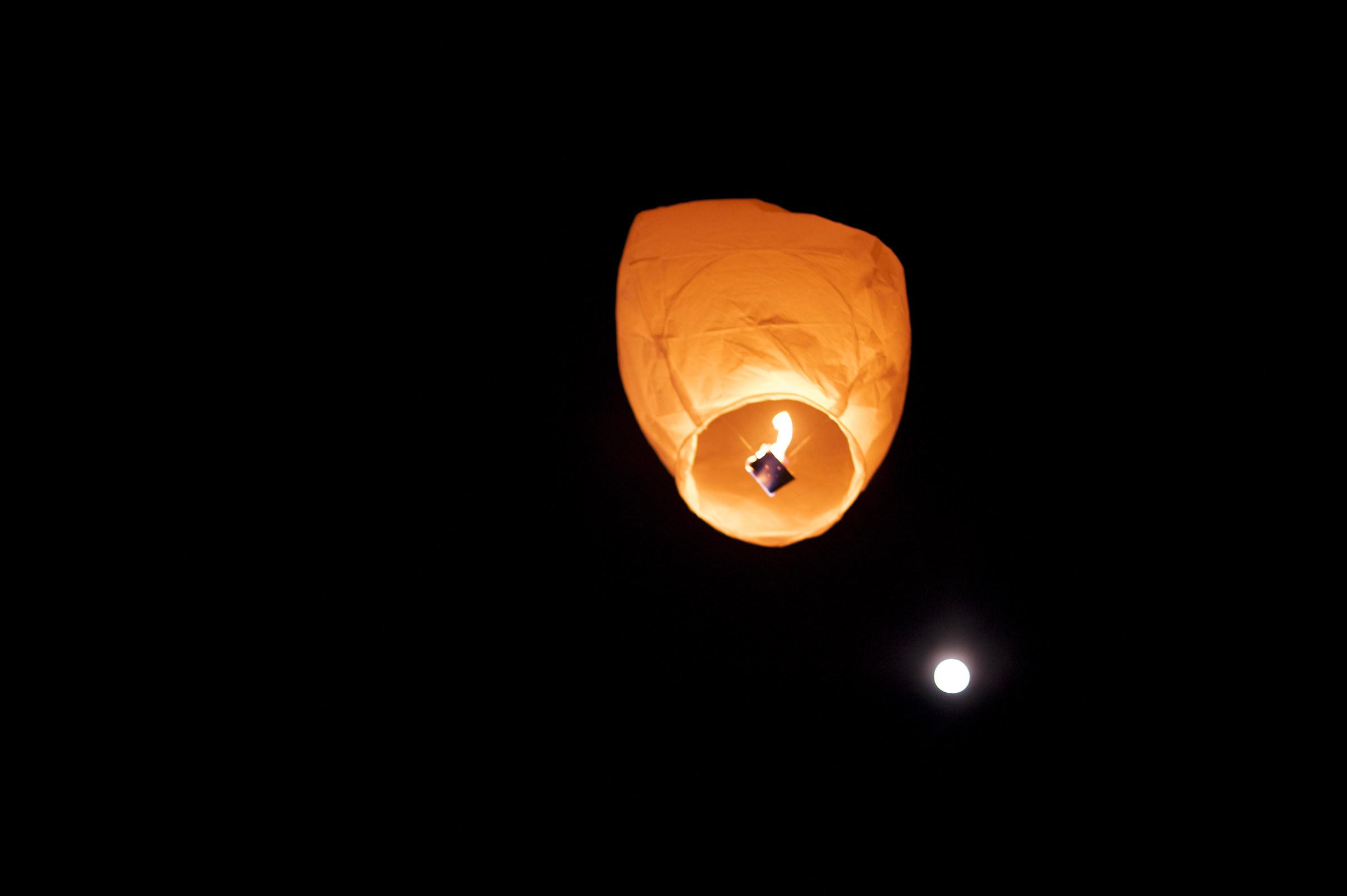 Luna e lanterne...