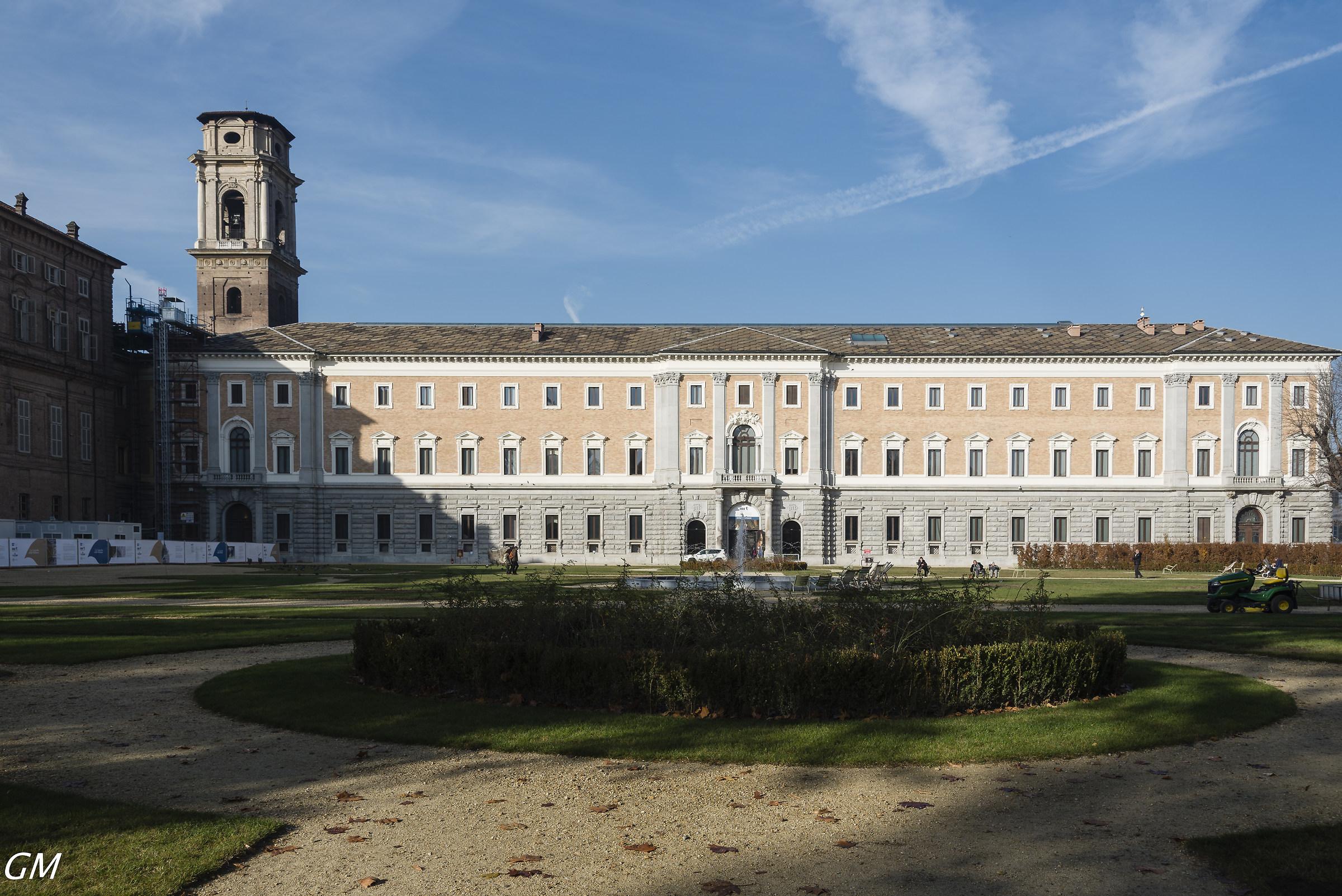 Torino Palazzo interno a palazzo madama...